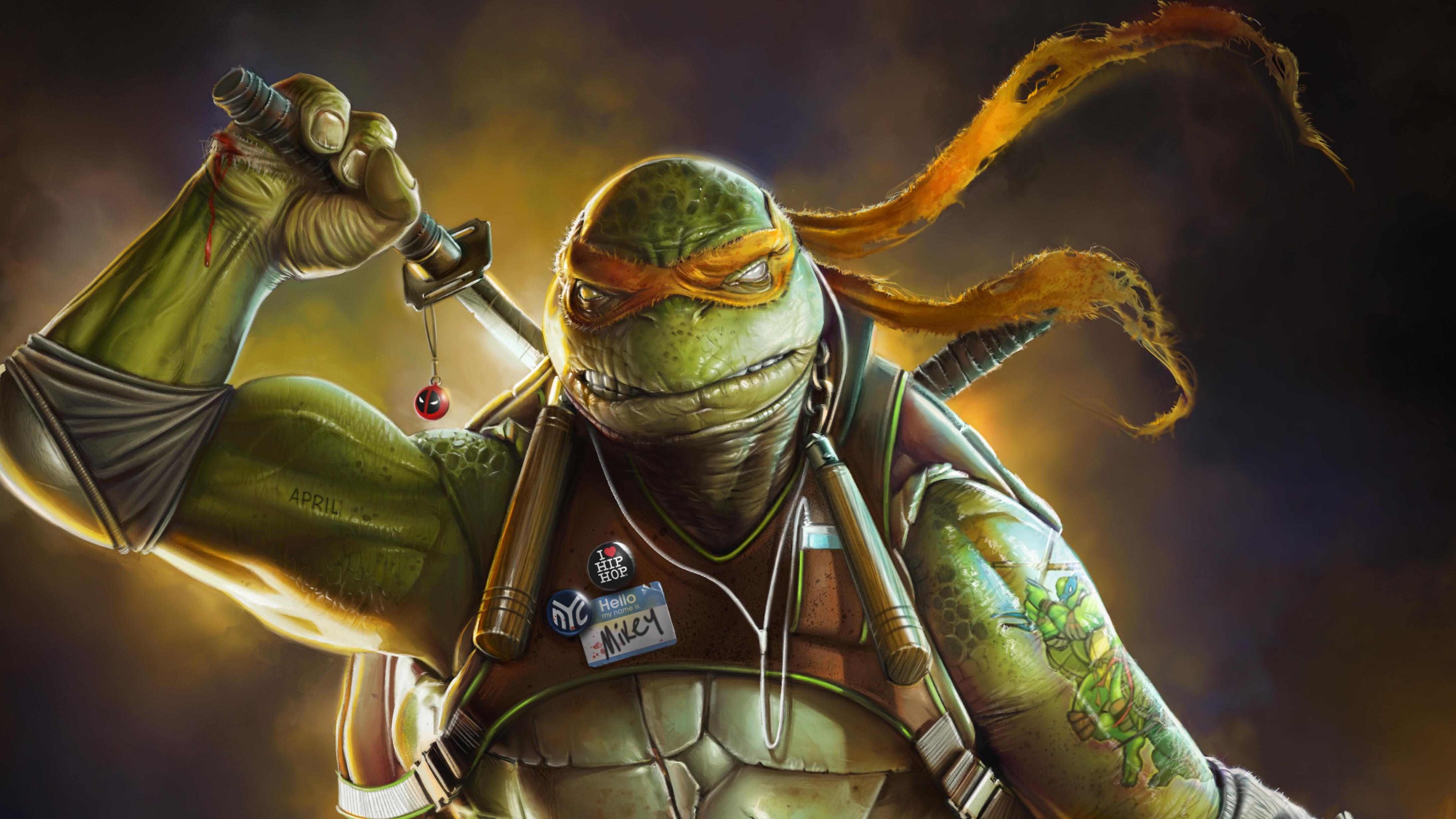 Ninja Turtle Art, HD Superheroes, 4k Wallpapers, Images ...