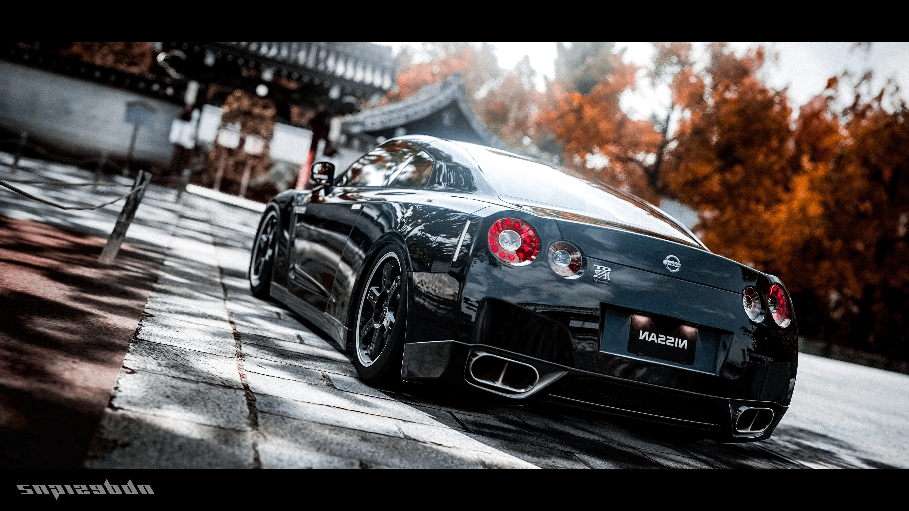 nissan gtr 2 cars hd 4k wallpapers