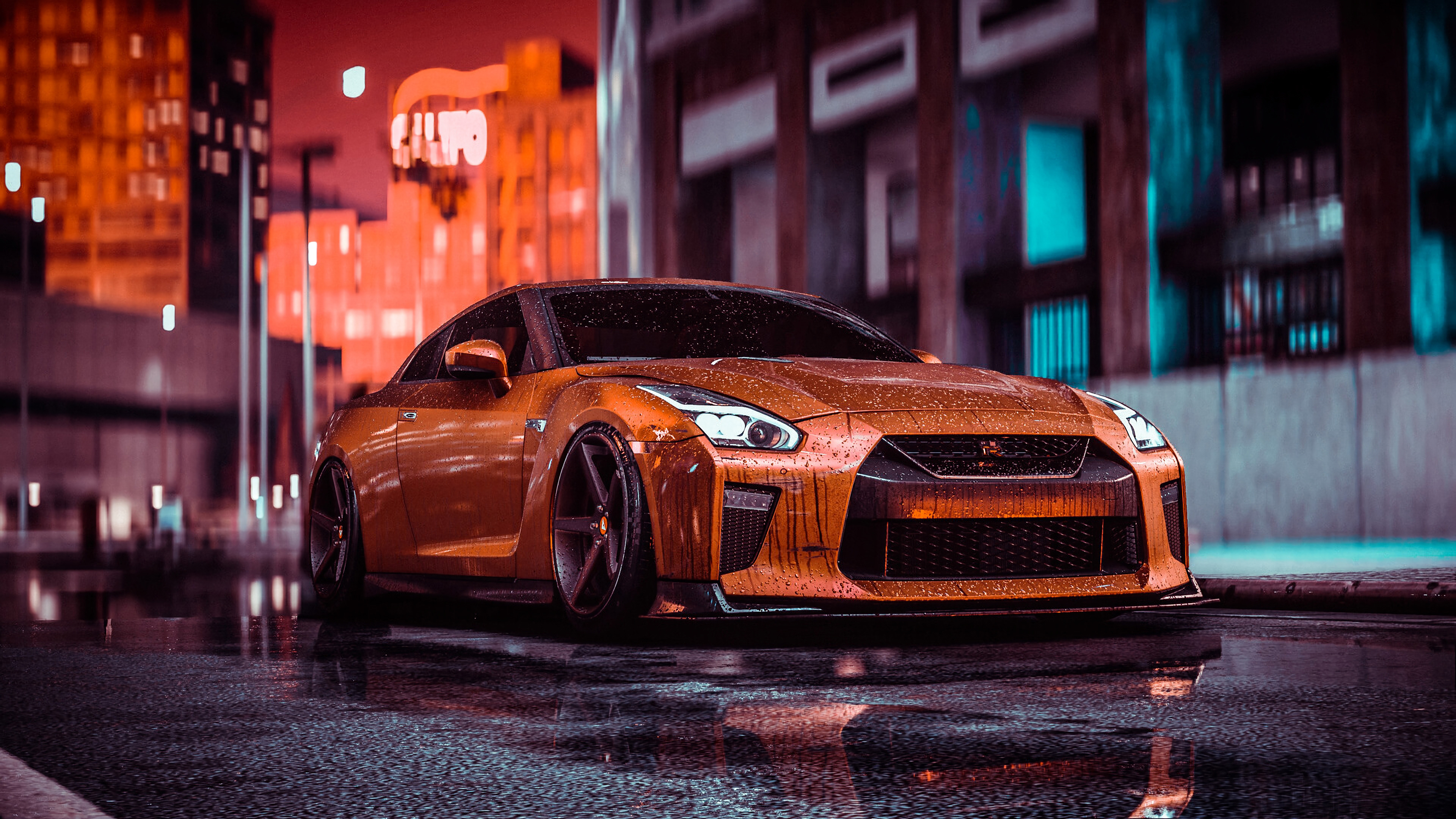 Nissan Gtr Nfs Front 4k, HD Cars, 4k Wallpapers, Images ...