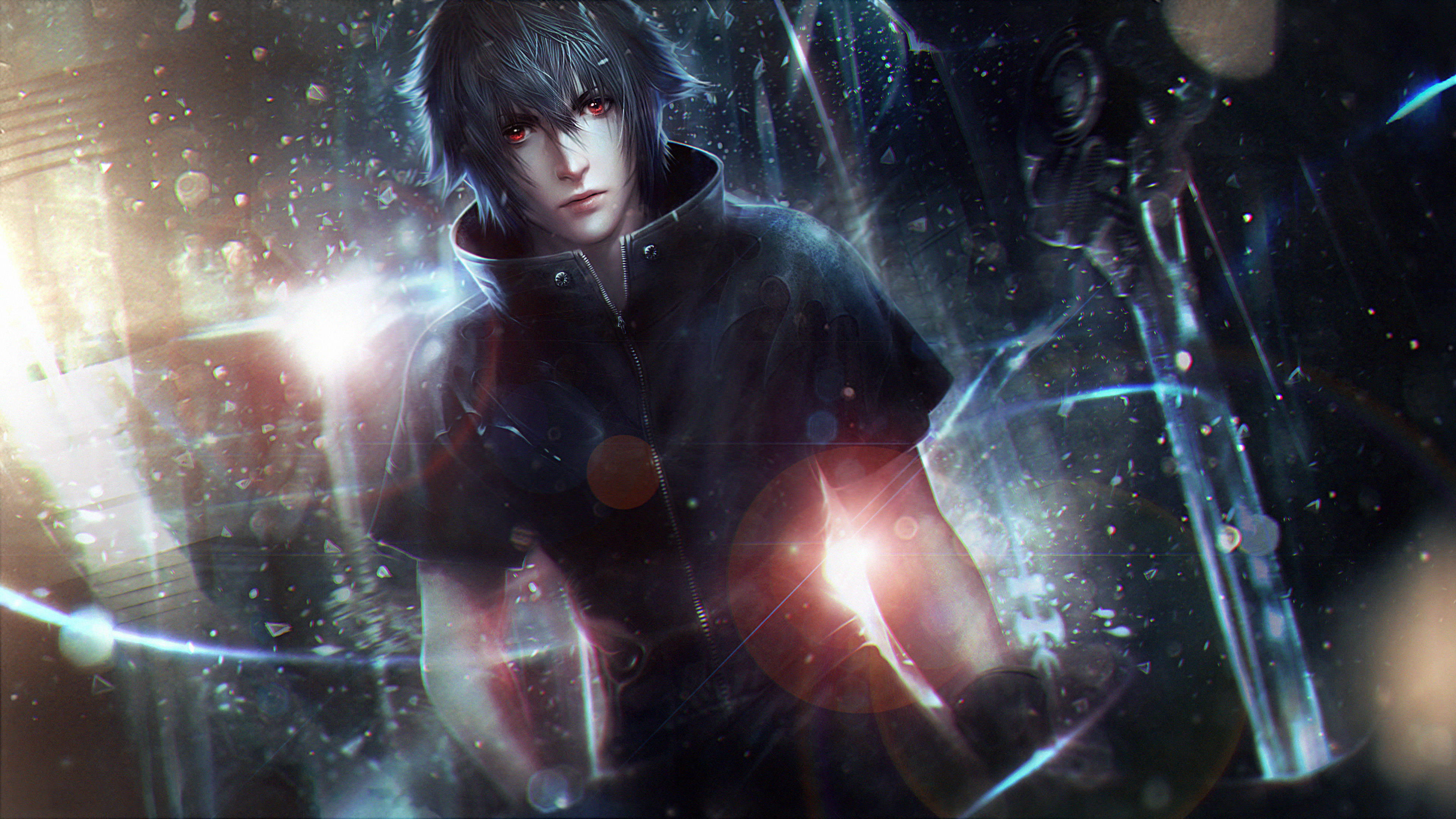 4k Final Fantasy Xv Hd Games 4k Wallpapers Images: Noctis Lucis Caelum Final Fantasy XV Artwork, HD Games, 4k