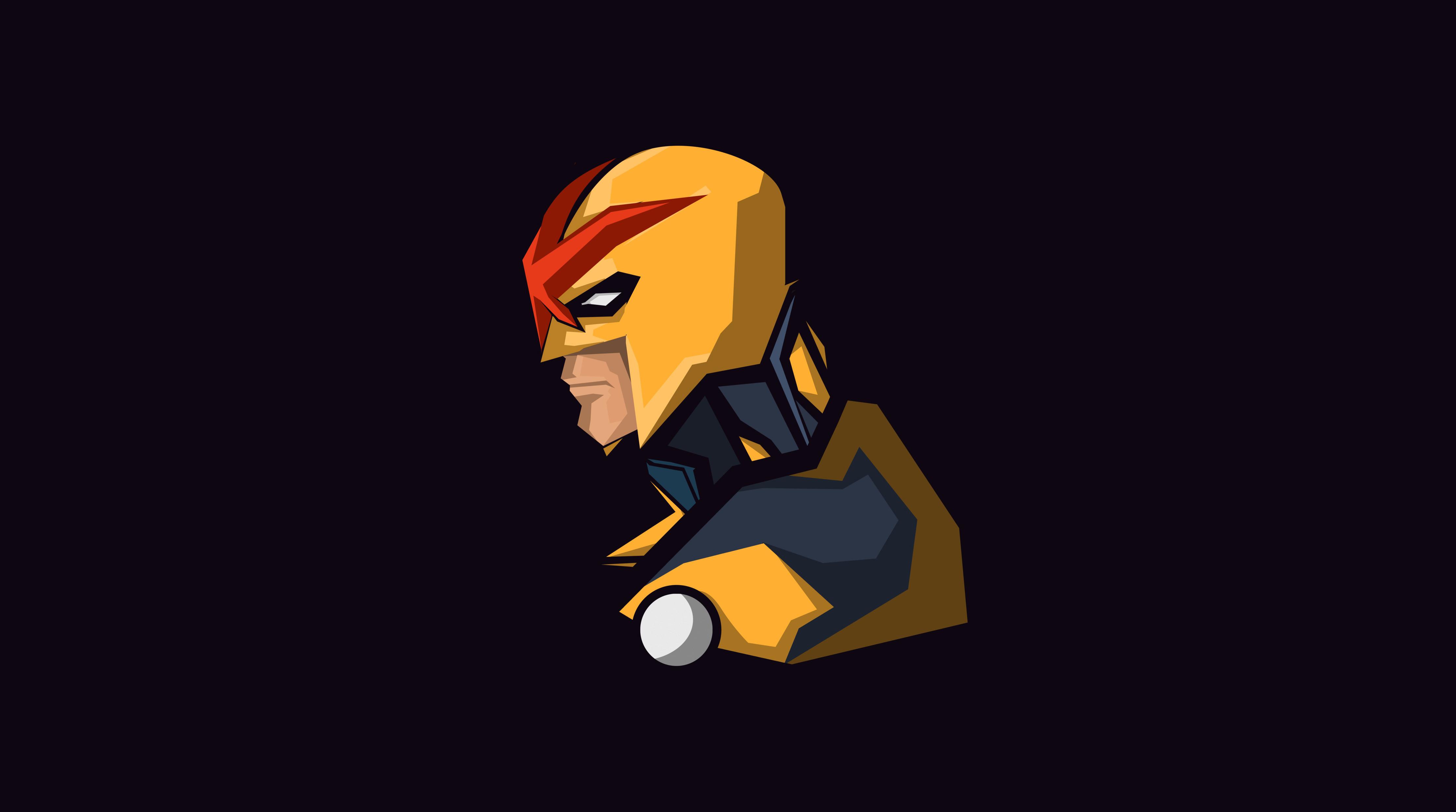 Nova Marvel Comics Minimalism, HD Superheroes, 4k ...