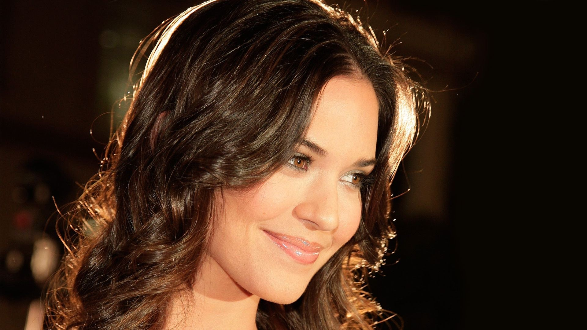 Odette Annable Smiling