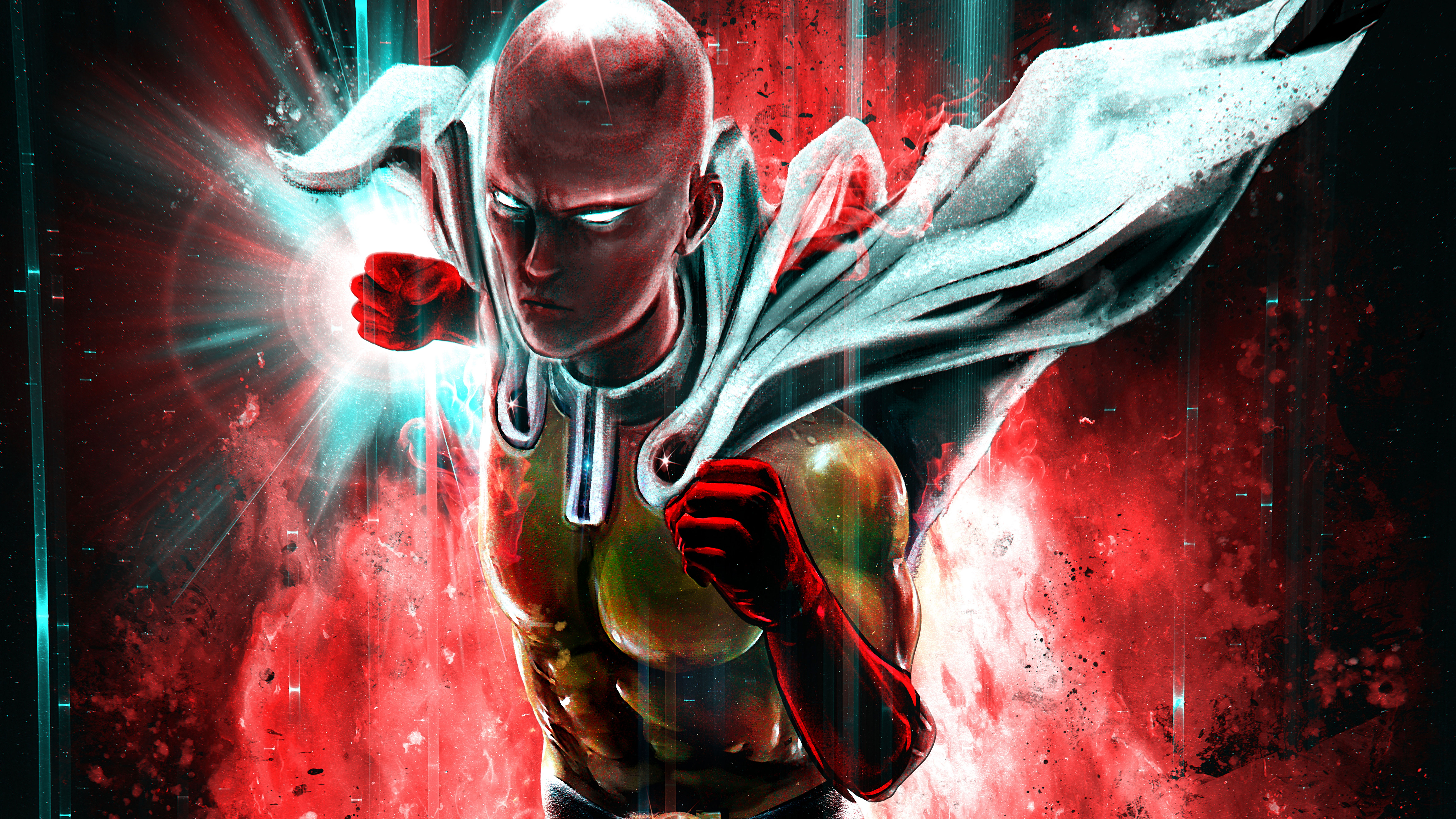 One Punch Man 8k Hd Anime 4k Wallpapers Images Backgrounds