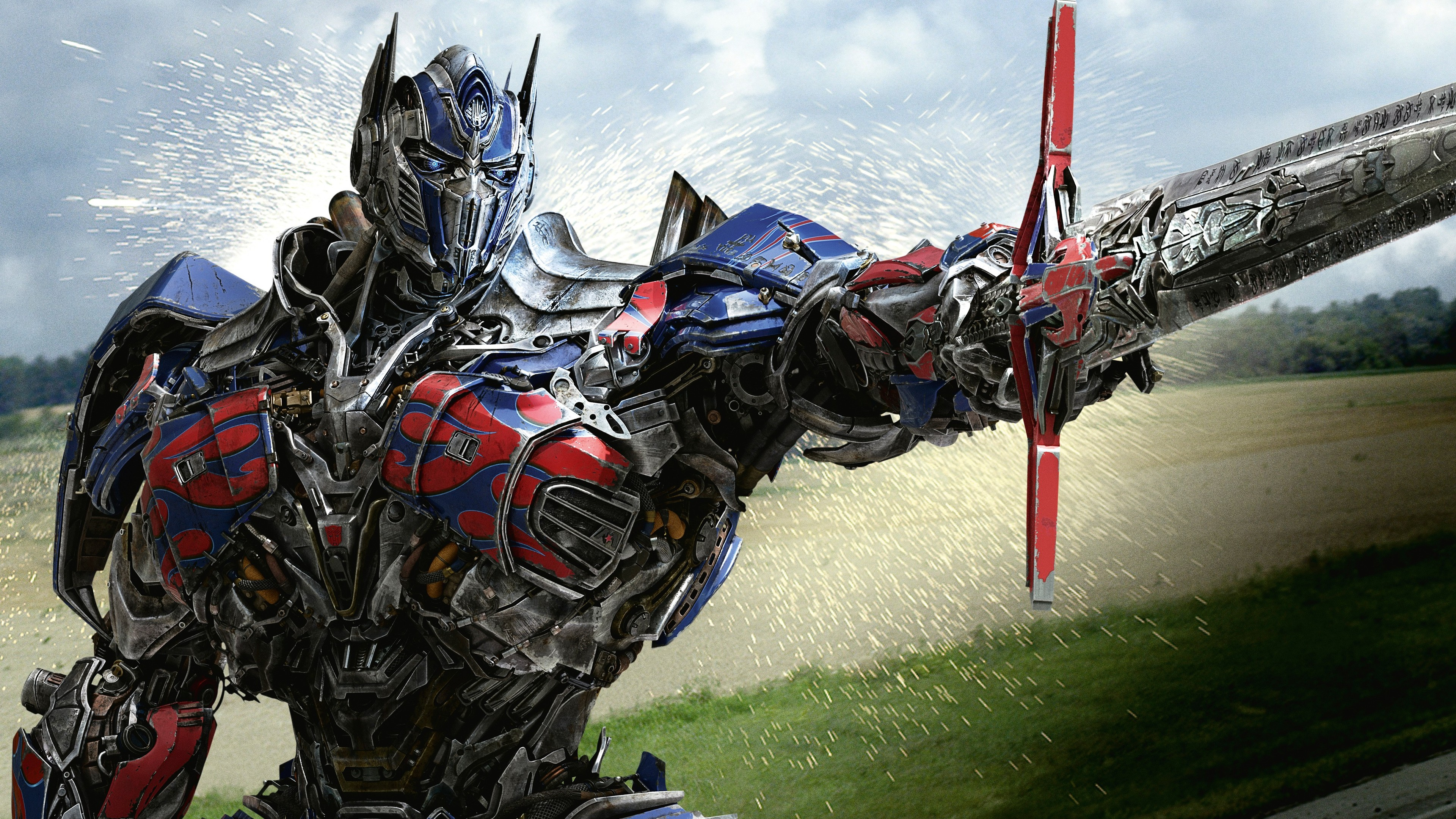 optimus prime in transformers 4 age of extinction, hd movies, 4k