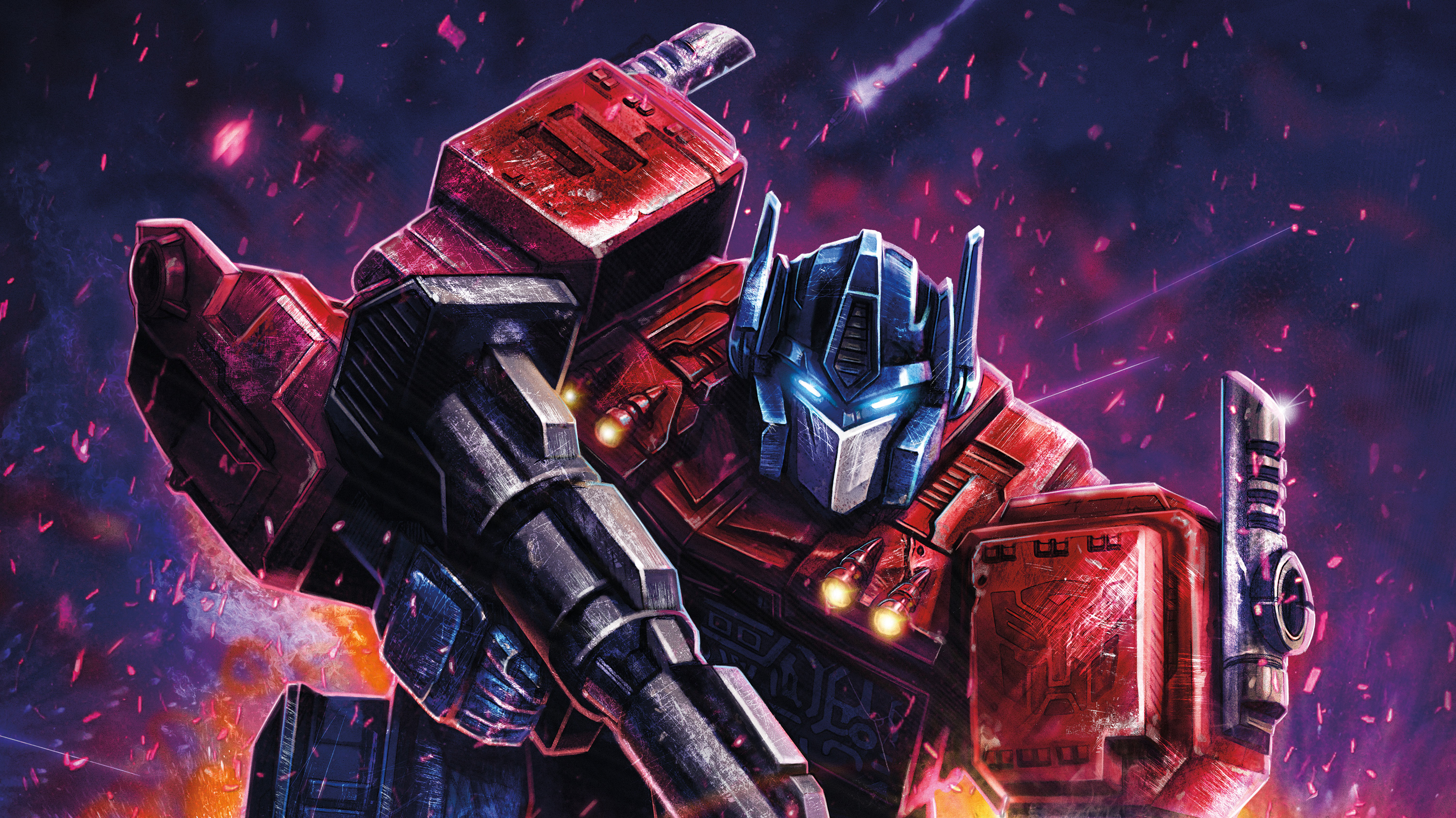 Optimus Prime Transformers Digital Art, HD Artist, 4k