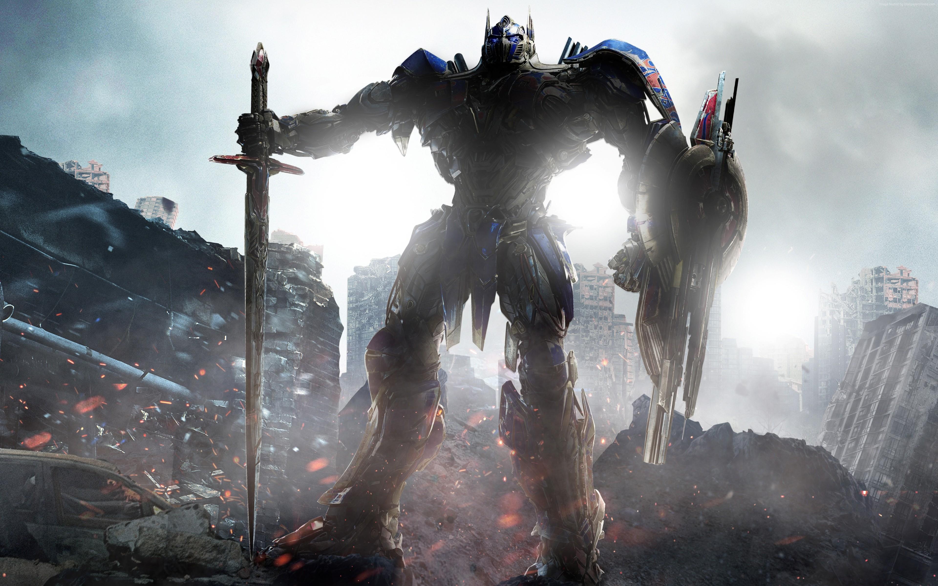 Optimus Prime Transformers The Last Knight 4k, HD Movies ...