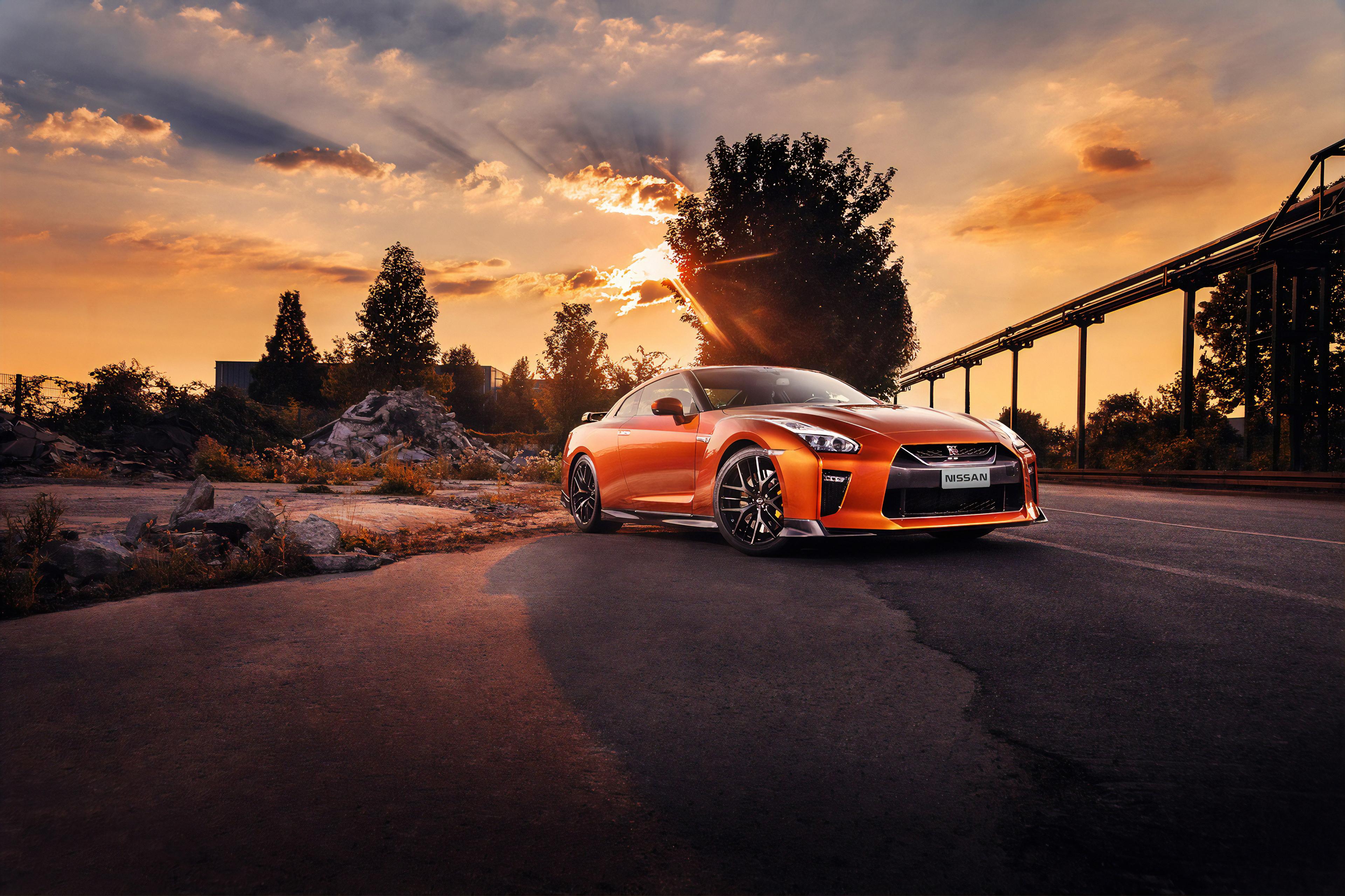 Orange Nissan GTR, HD Cars, 4k Wallpapers, Images ...