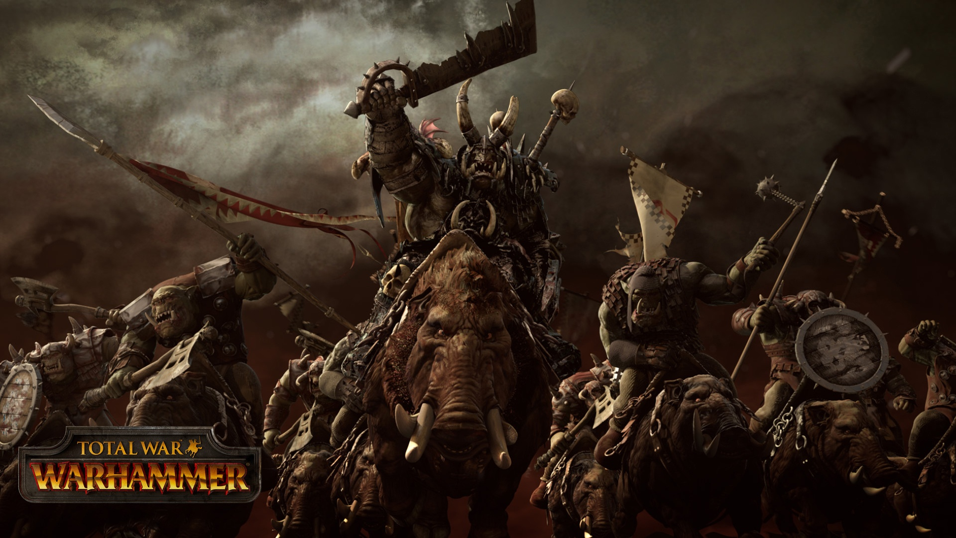 Orcs Total War Warhammer Hd Games 4k Wallpapers Images