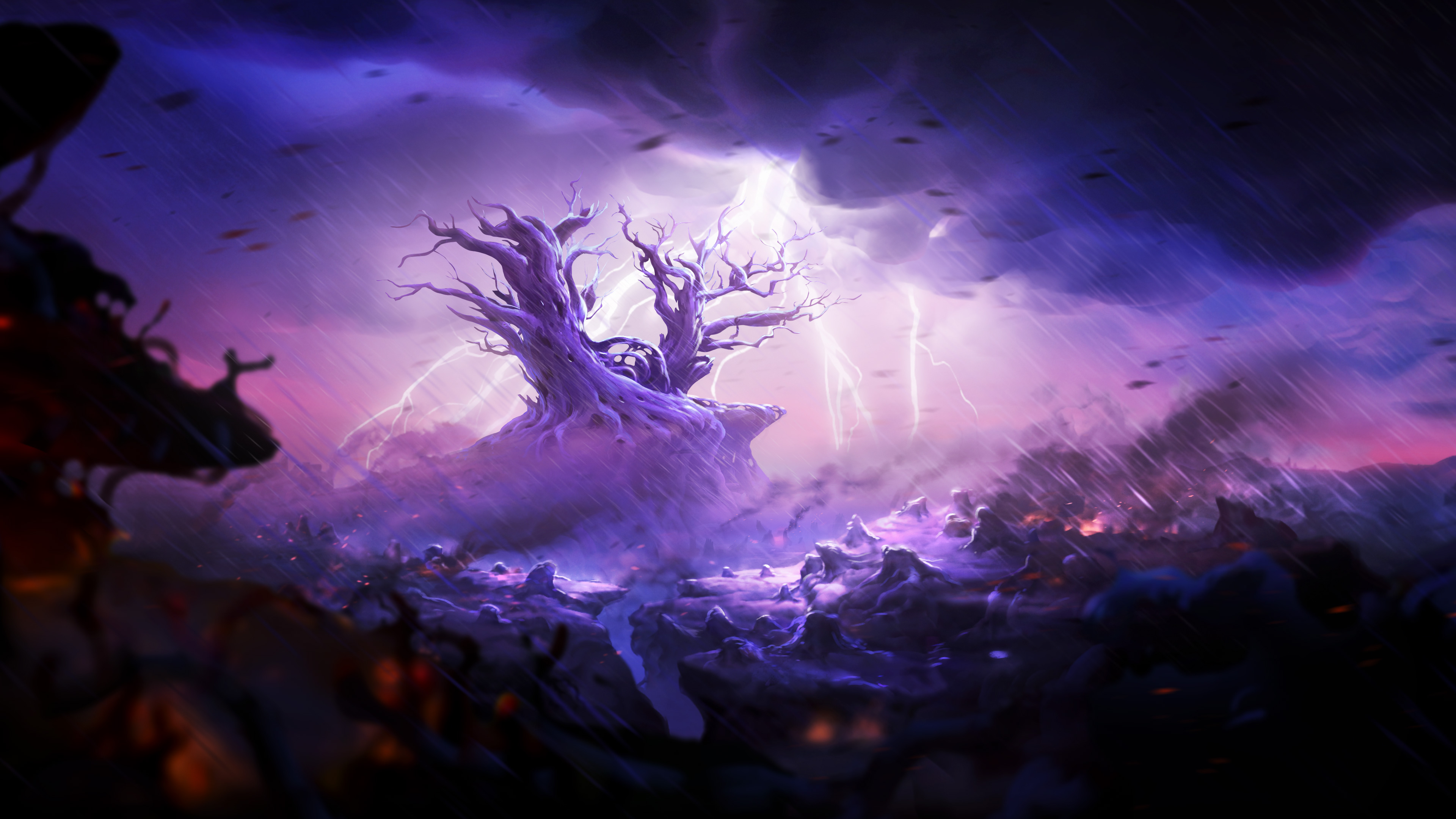 ori and the blind forest spirit tree, hd games, 4k wallpapers