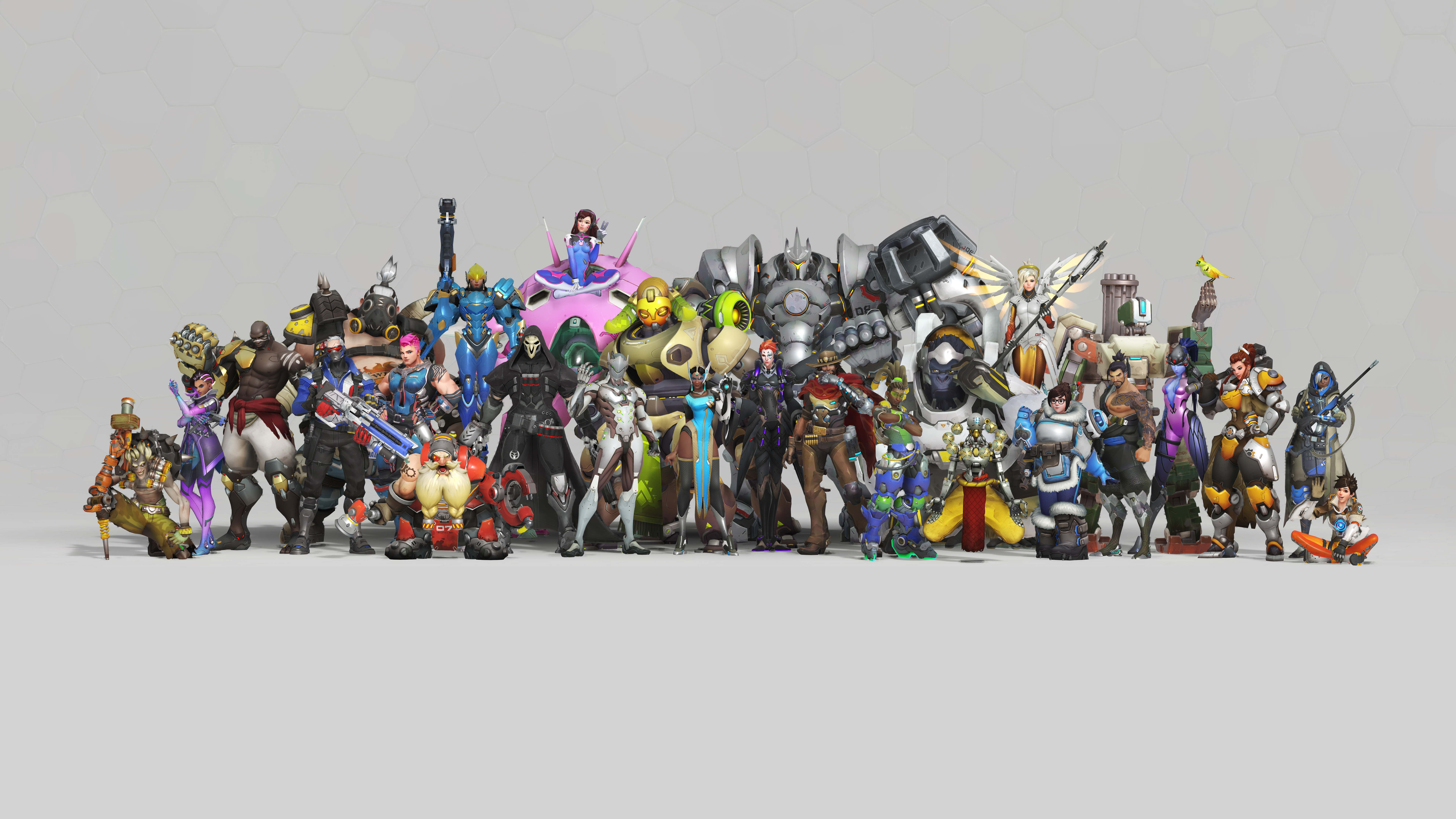 7680x4320 Overwatch Anniversary 8k 8k Hd 4k Wallpapers Images