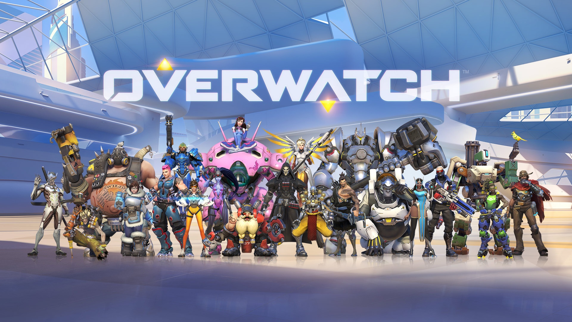 Overwatch Game All Heroes Hd Games 4k Wallpapers Images