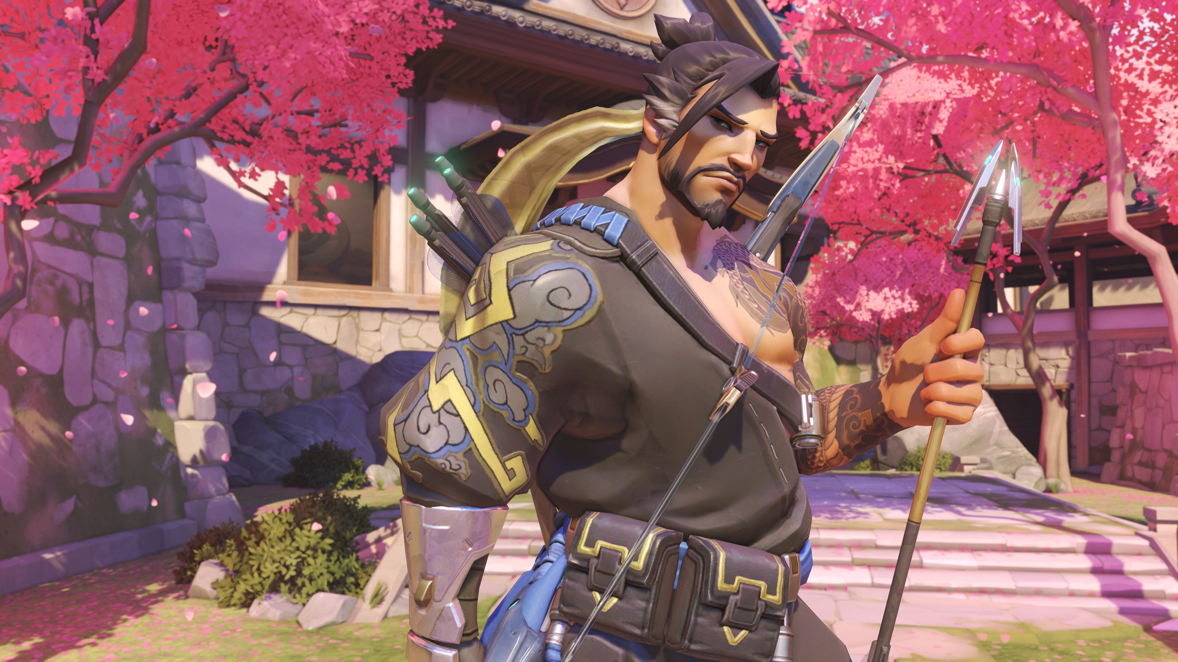 Overwatch Hanzo 4k Hd Games 4k Wallpapers Images