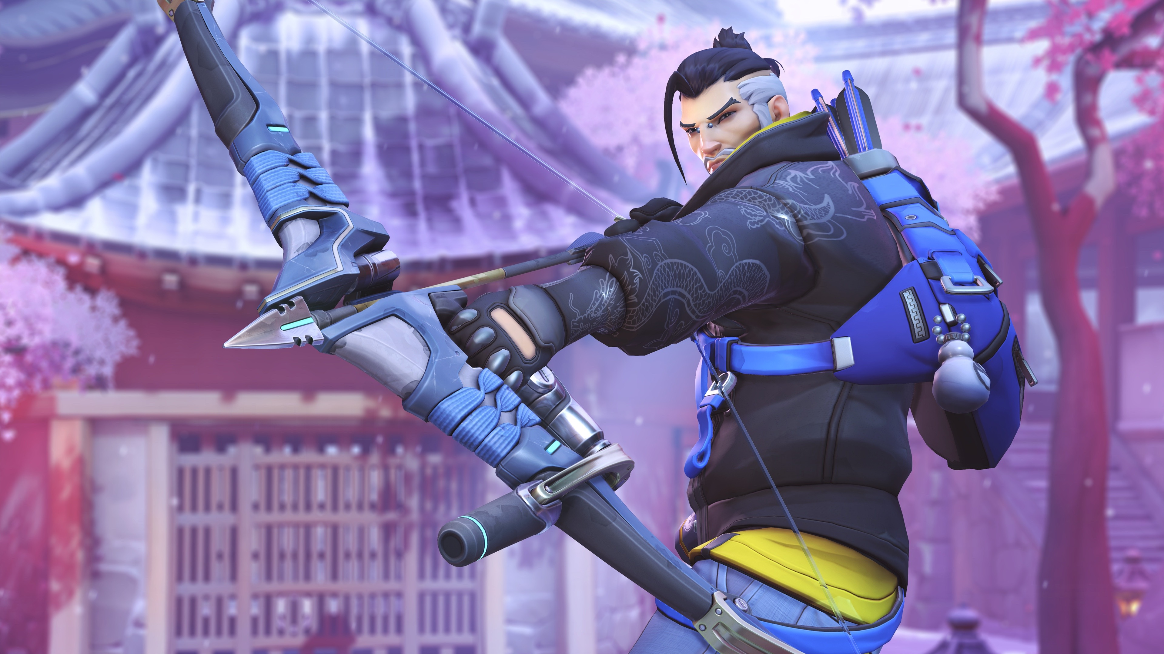 overwatch hanzo winterland, hd games, 4k wallpapers, images