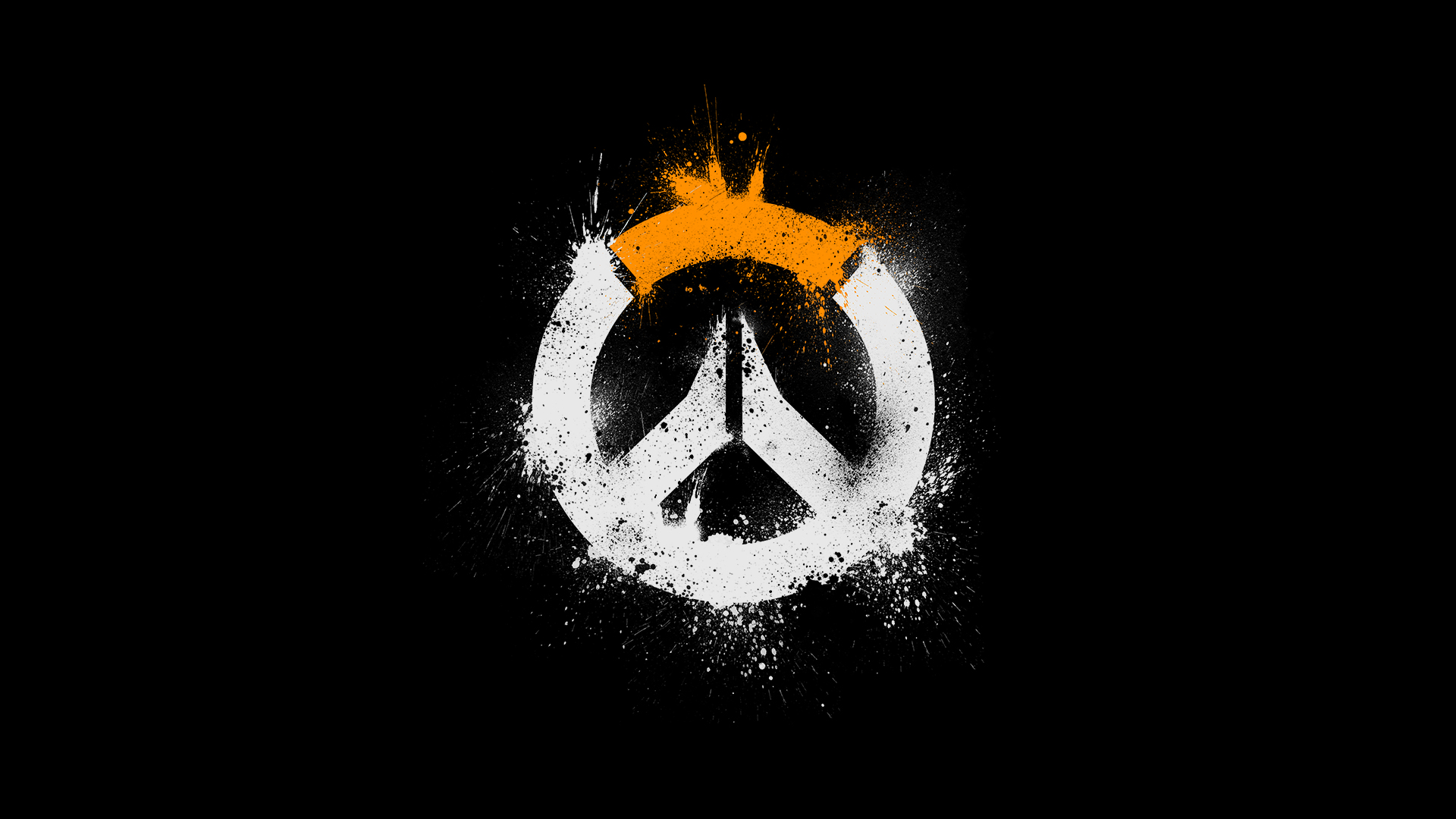 overwatch logo hd, hd games, 4k wallpapers, images, backgrounds