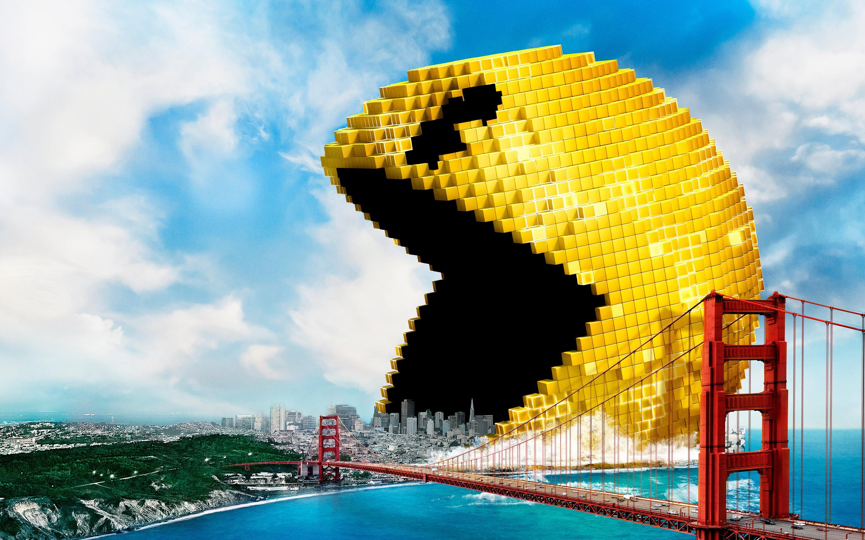 Pac Man Pixels Hd Artist 4k Wallpapers Images