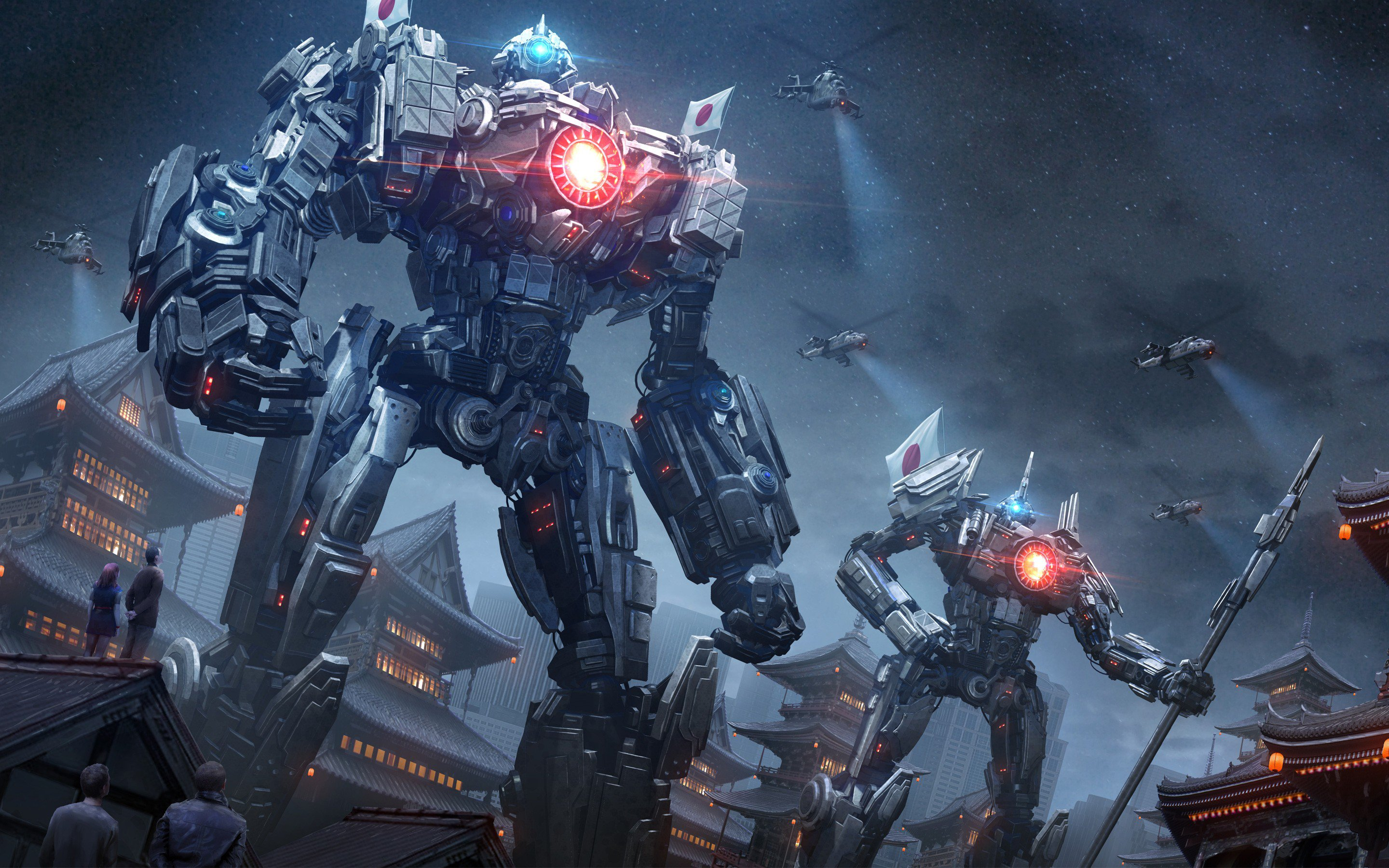 Group Of Pacific Rim Concept Wallpaper
