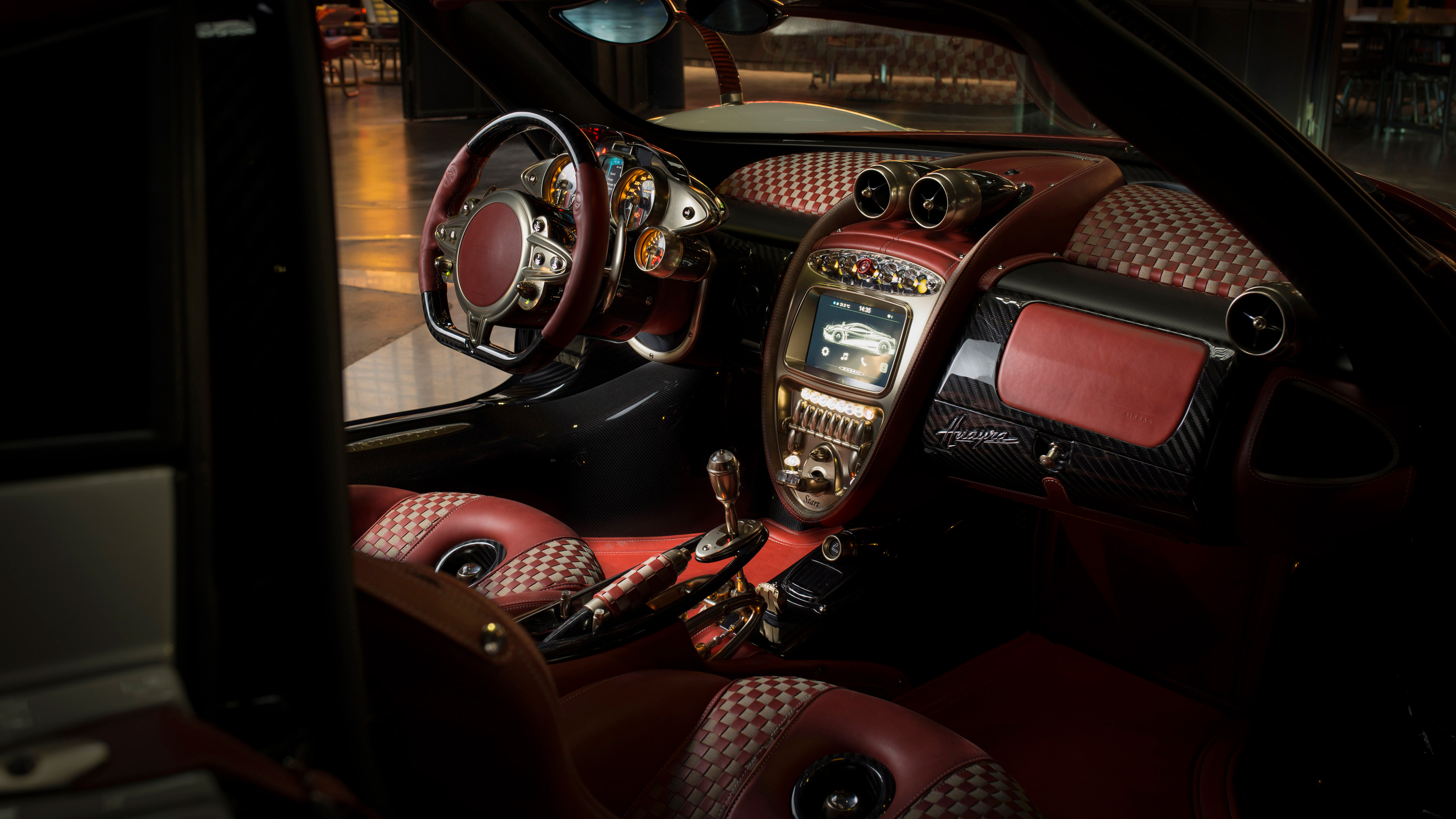 Pagani Huayra Lampo 2018 Interior Hd Cars 4k Wallpapers Images