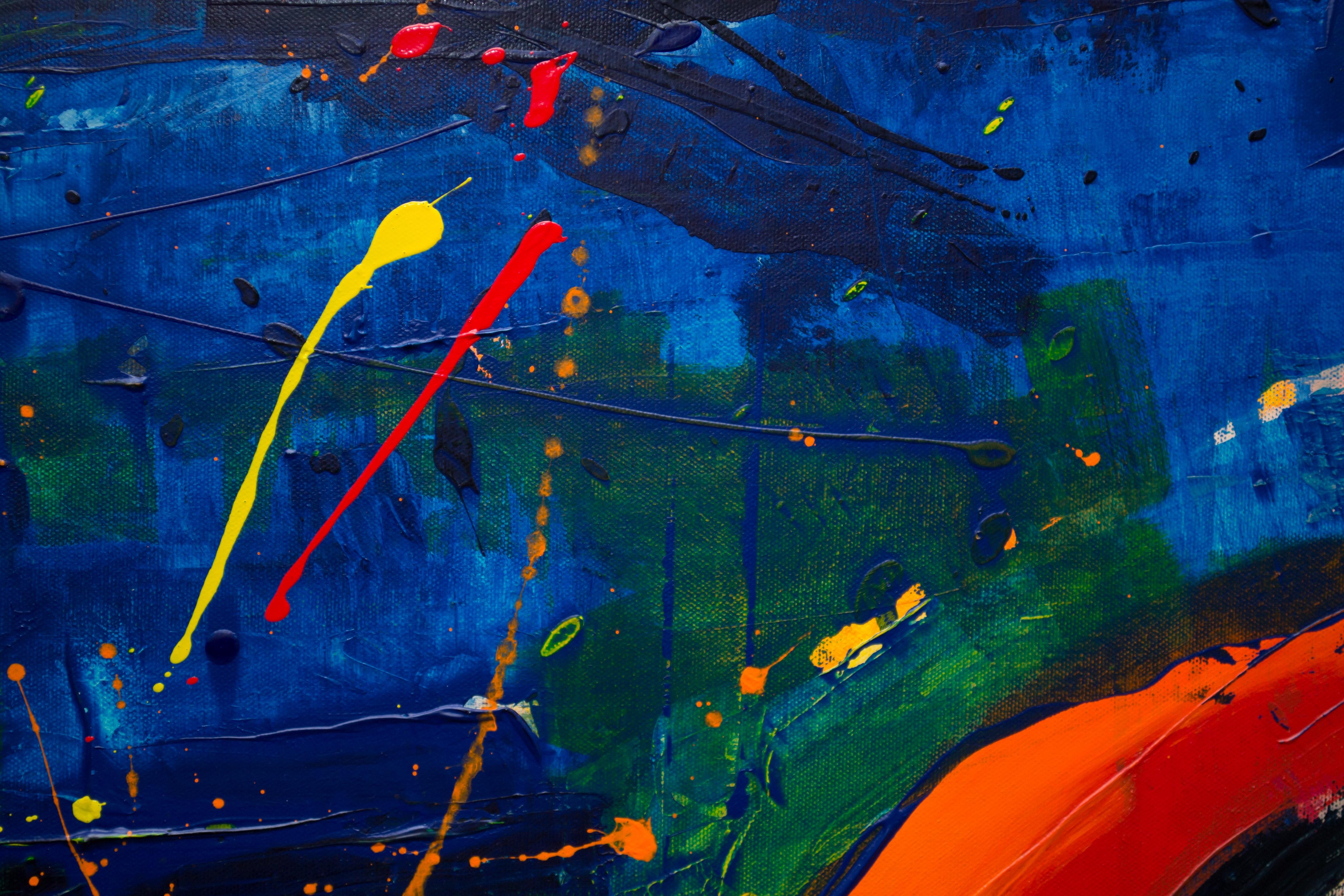 Painting Wall Abstract 5k, HD Abstract, 4k Wallpapers ...