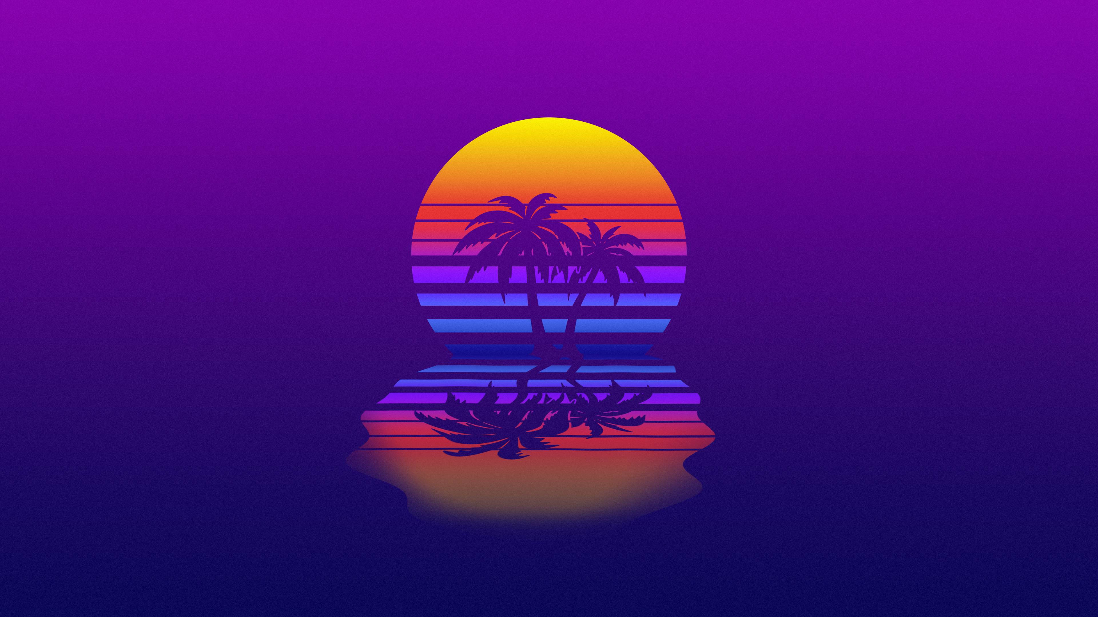 Palm Tree Synthwave, HD Artist, 4k Wallpapers, Images ...