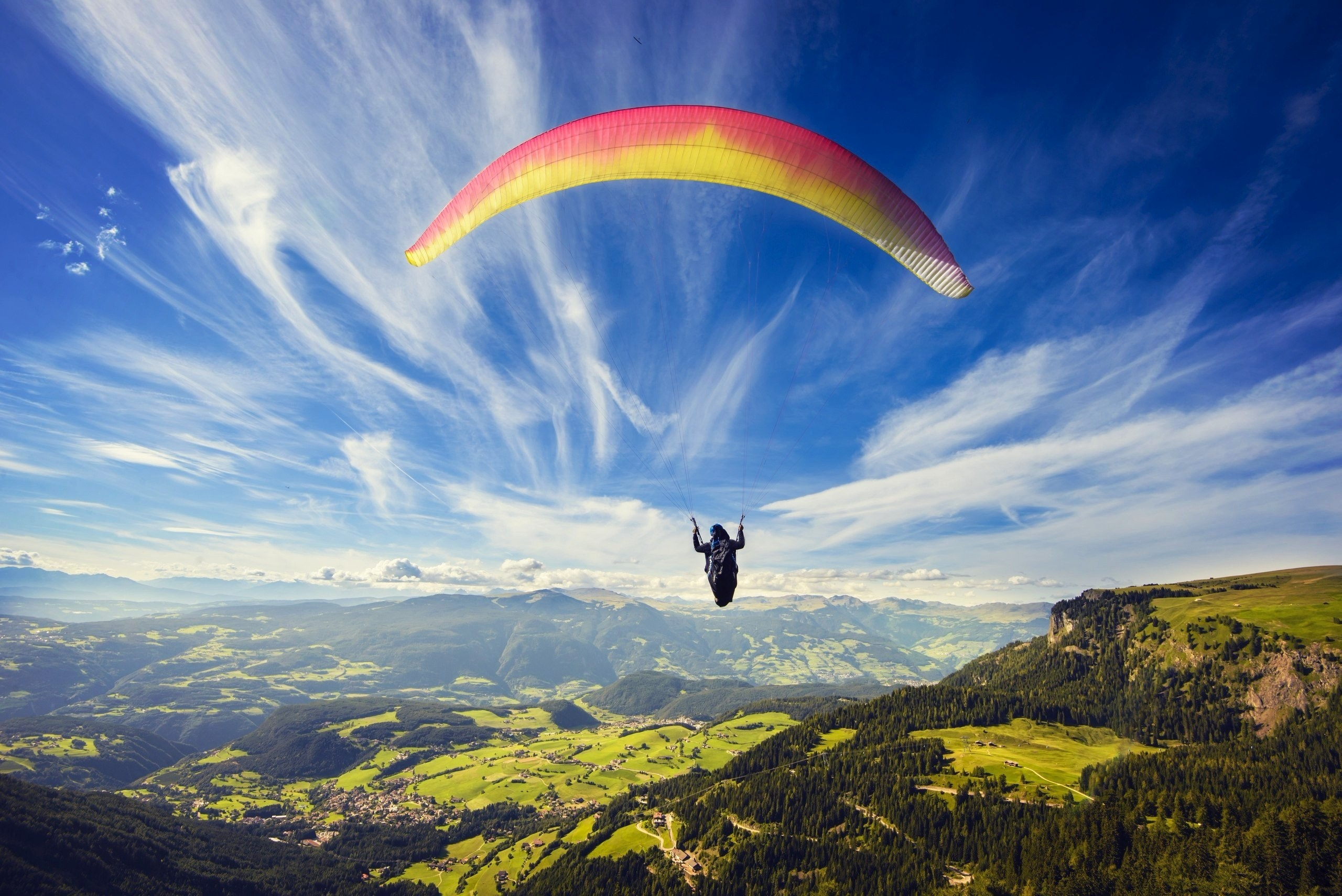 paragliding, hd sports, 4k wallpapers, images, backgrounds, photos