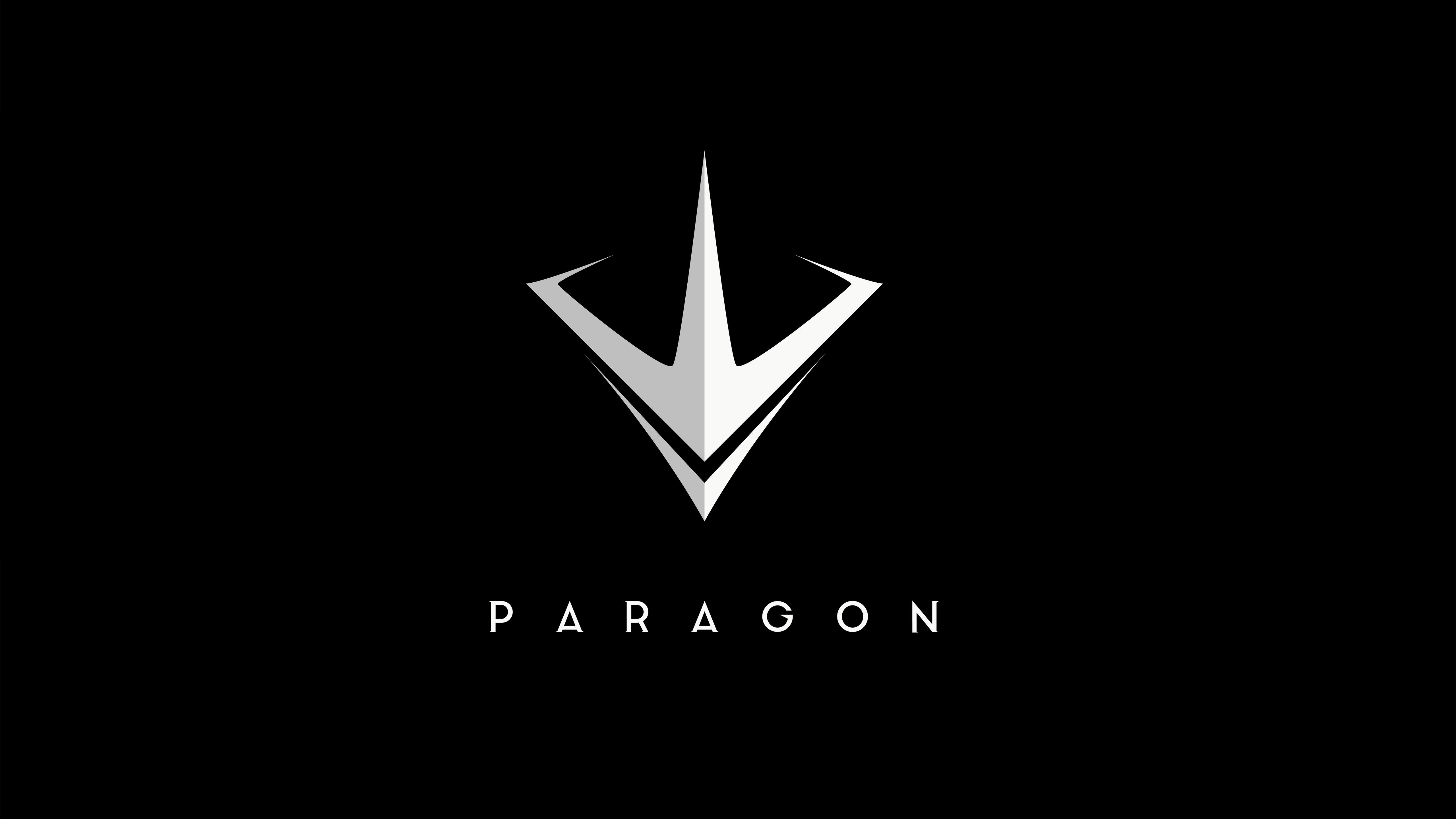 Must see Wallpaper Logo Huawei - paragon-logo-5k-d8  2018_45618.jpg