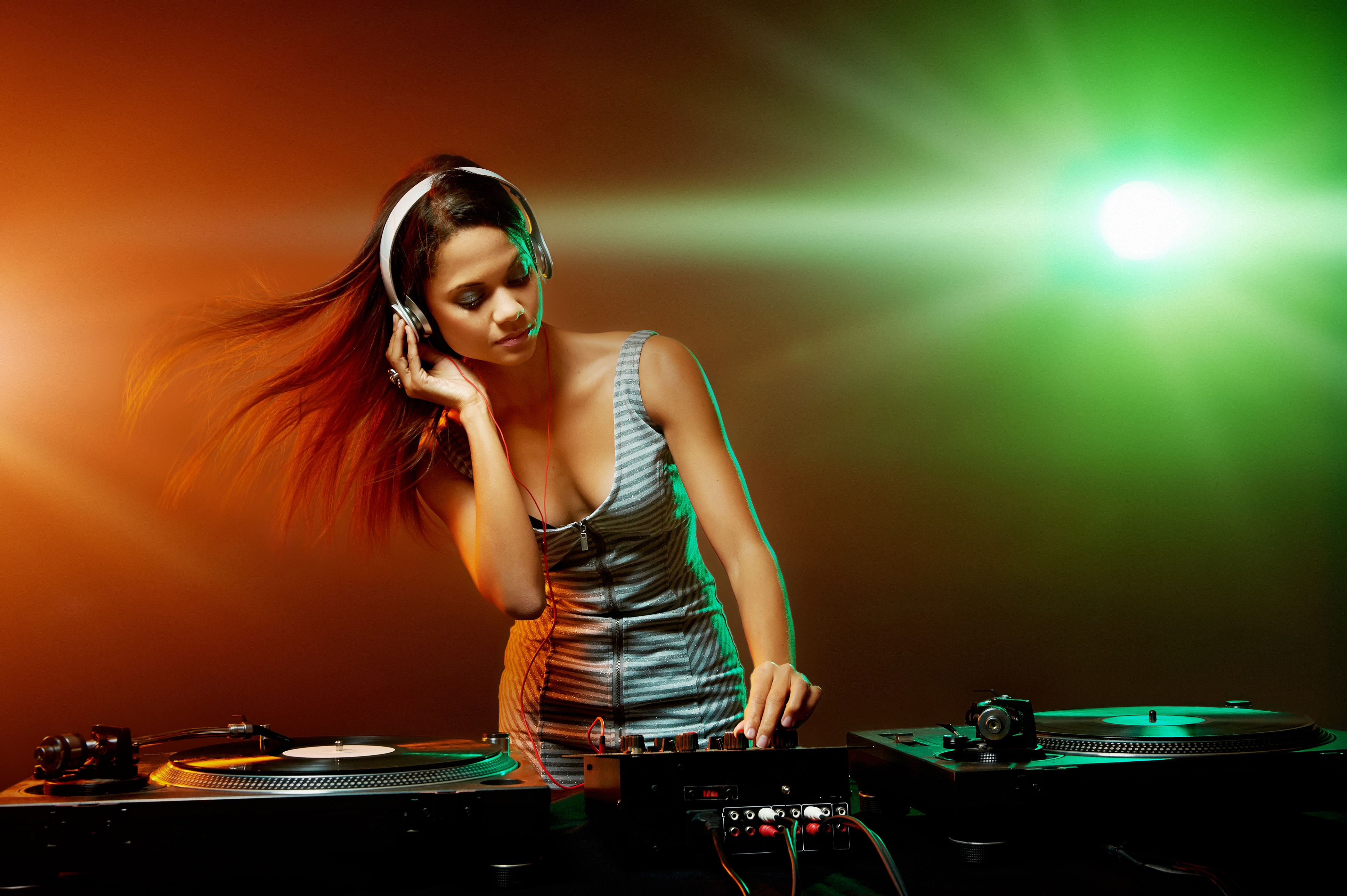 Party Dj Girl, HD Girls, 4k Wallpapers, Images ...