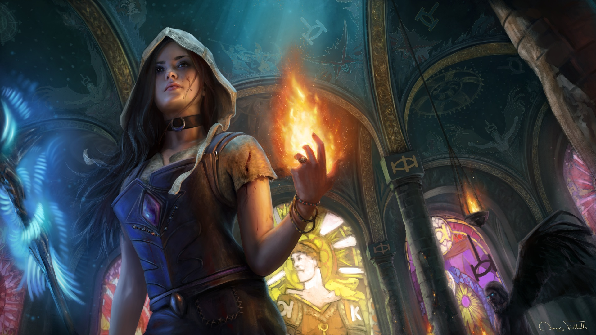 Path Of Exile Fantasy Girl Artwork, HD Games, 4k