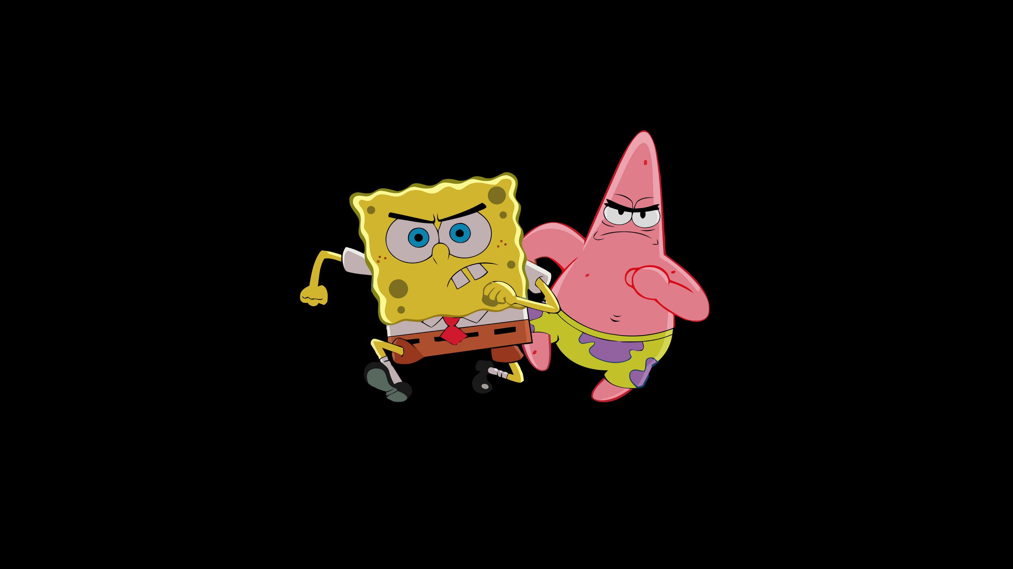Patrick Star And Spongebob Hd Cartoons 4k Wallpapers Images