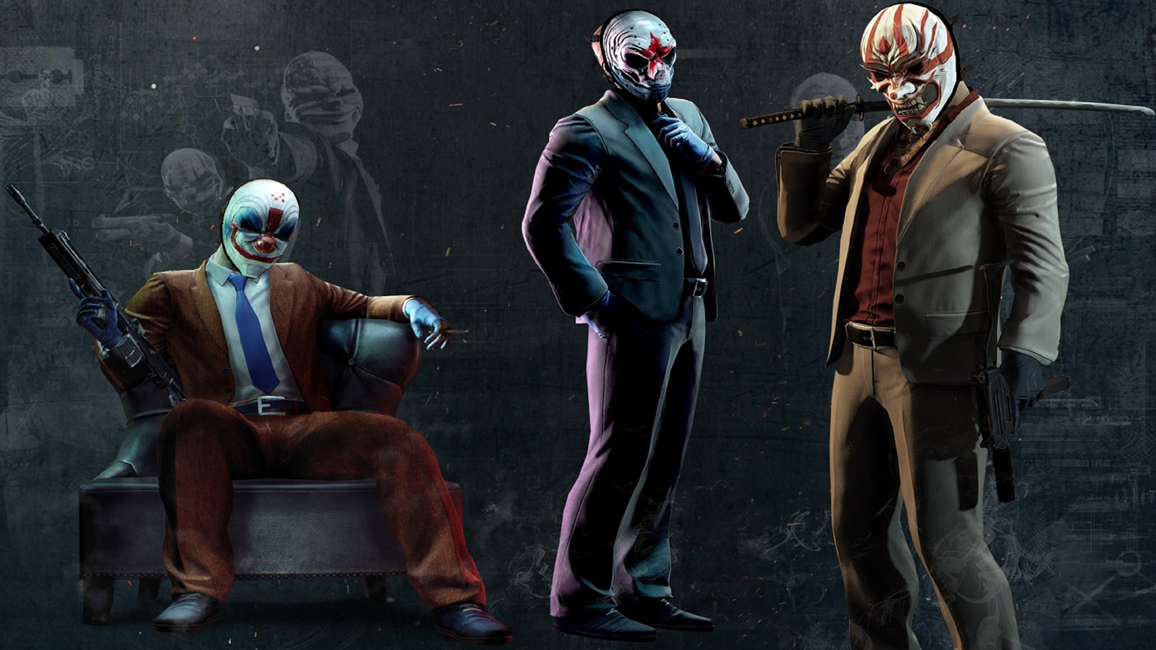 Payday 2 Artwork 2 Hd Games 4k Wallpapers Images Backgrounds