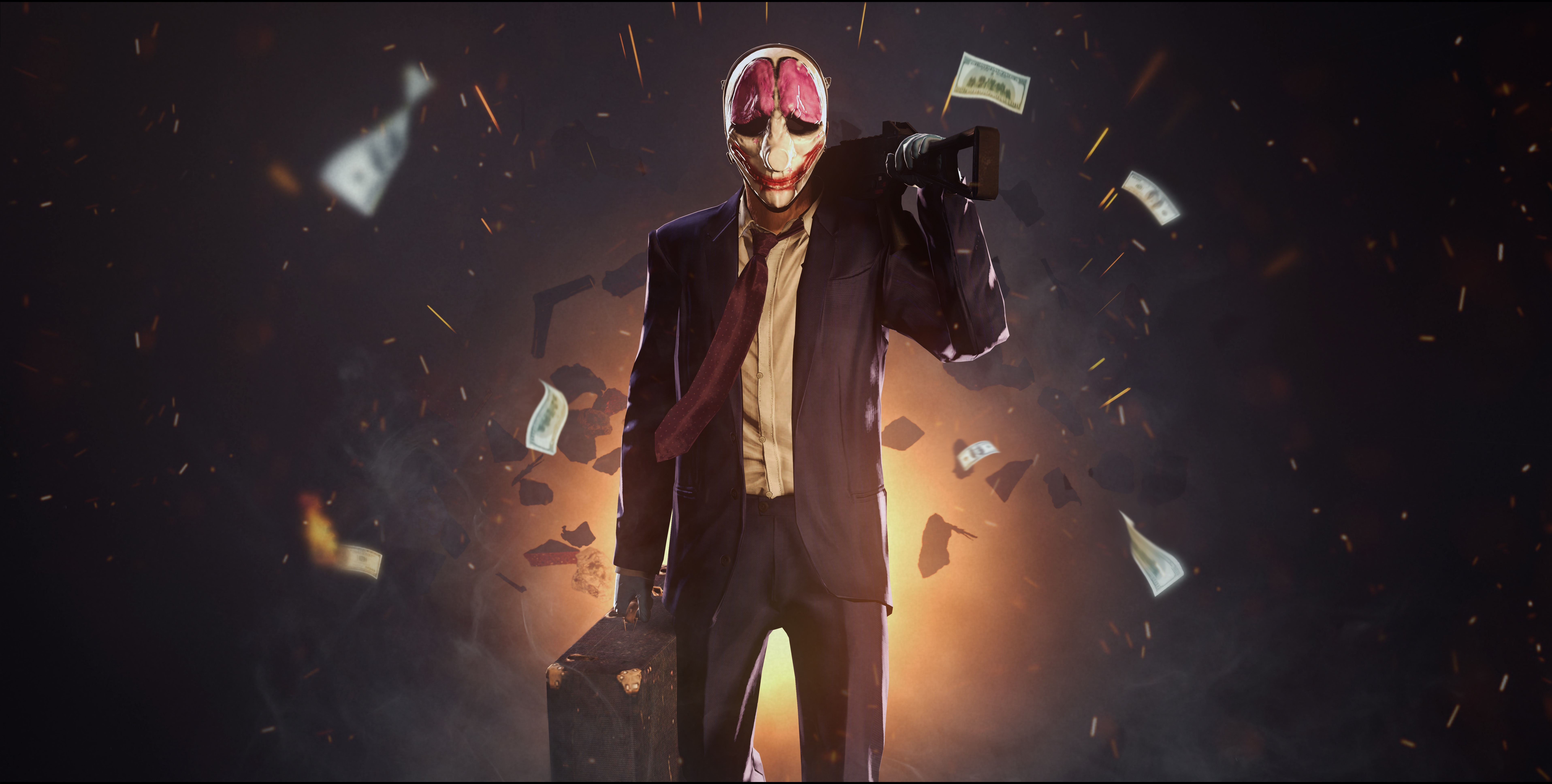 750x1334 payday 2 iphone 6 iphone 6s iphone 7 hd 4k