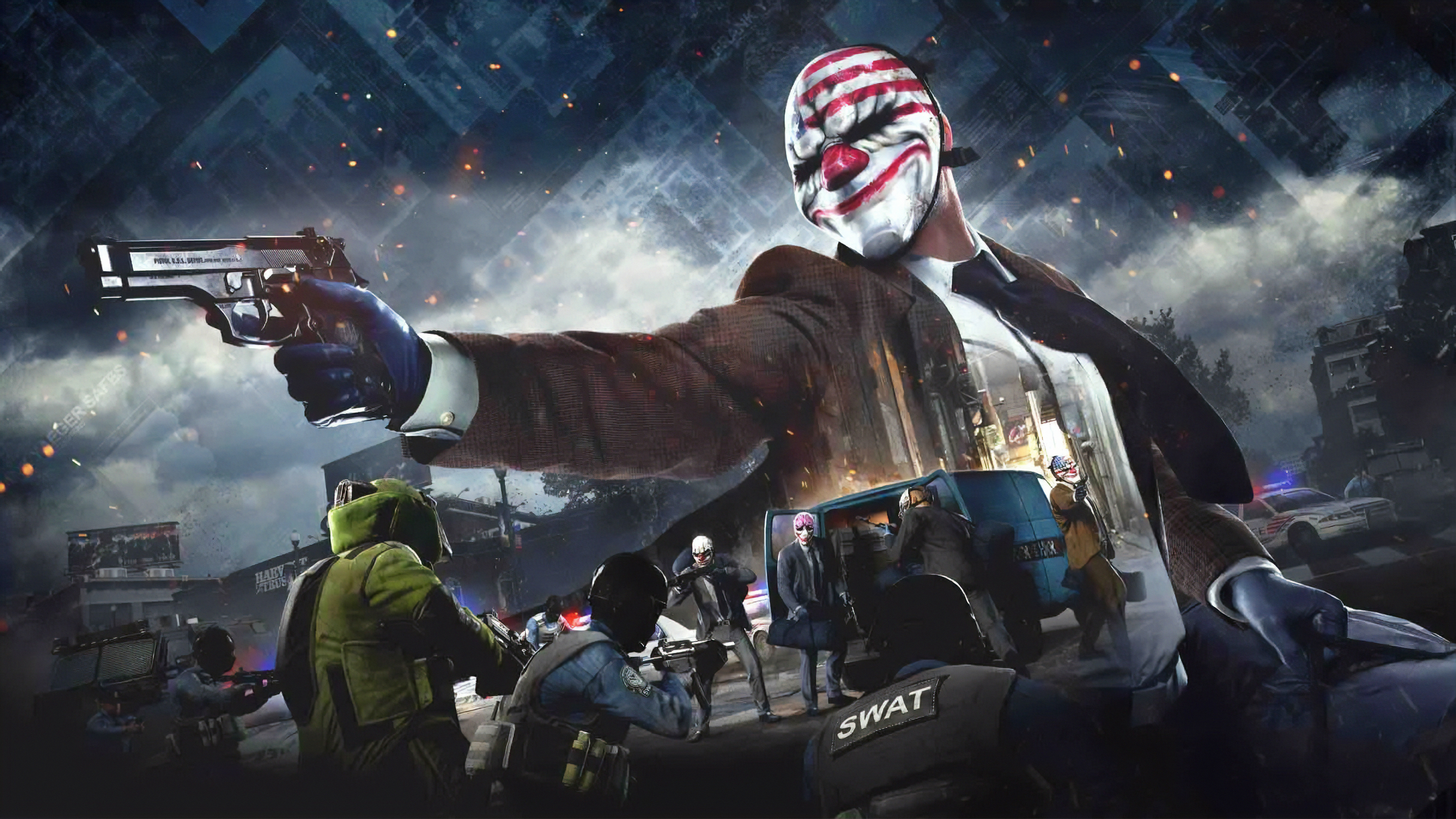 Payday 4k Hd Games 4k Wallpapers Images Backgrounds
