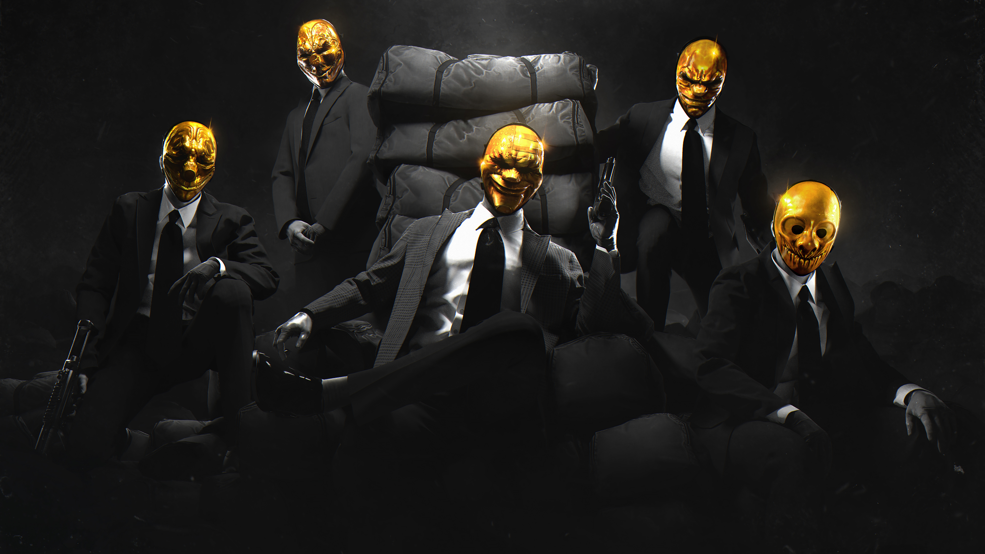 Payday Gold Crew, HD Games, 4k Wallpapers, Images ...