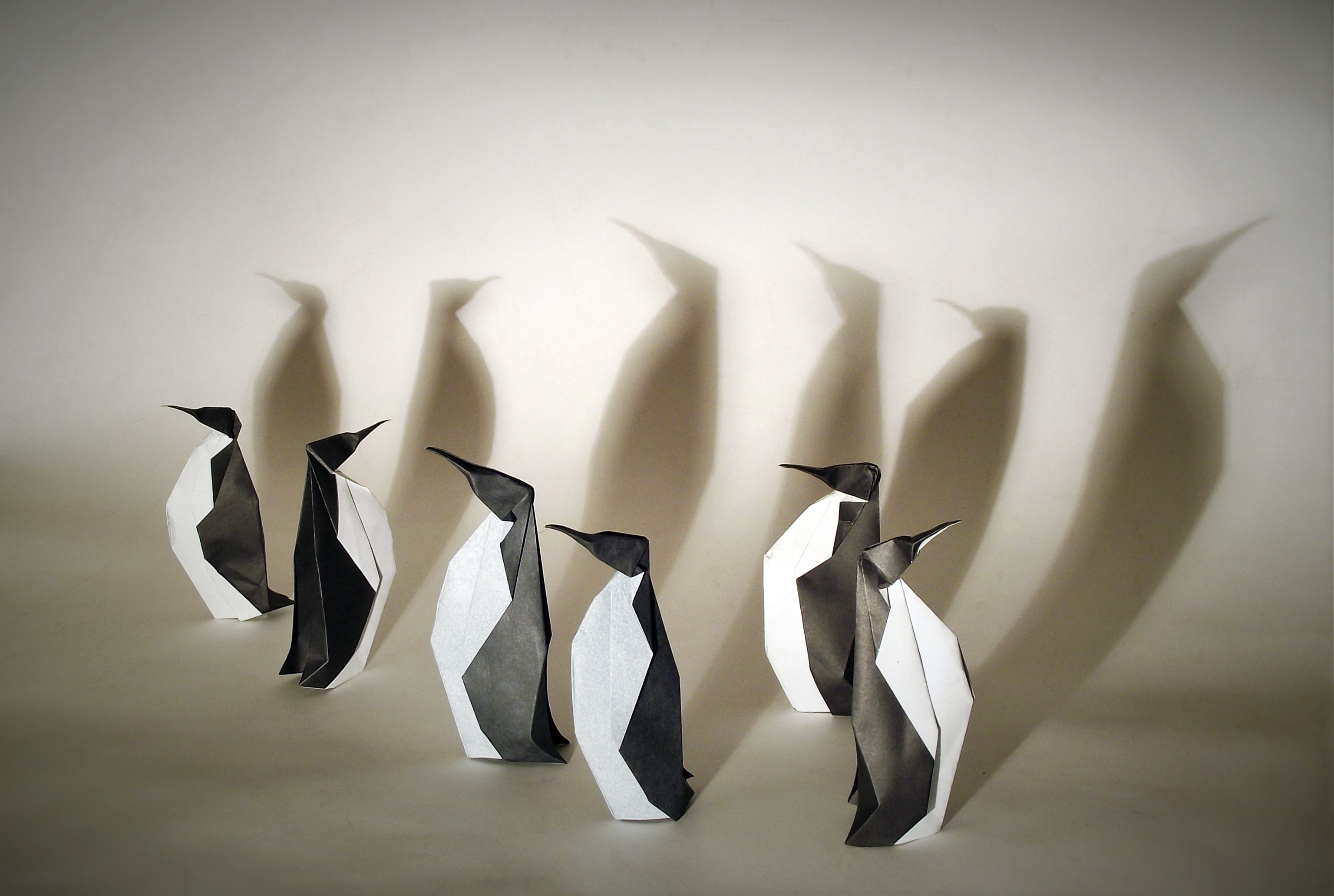 Penguins Origami, HD Creative, 4k Wallpapers, Images ... - photo#39