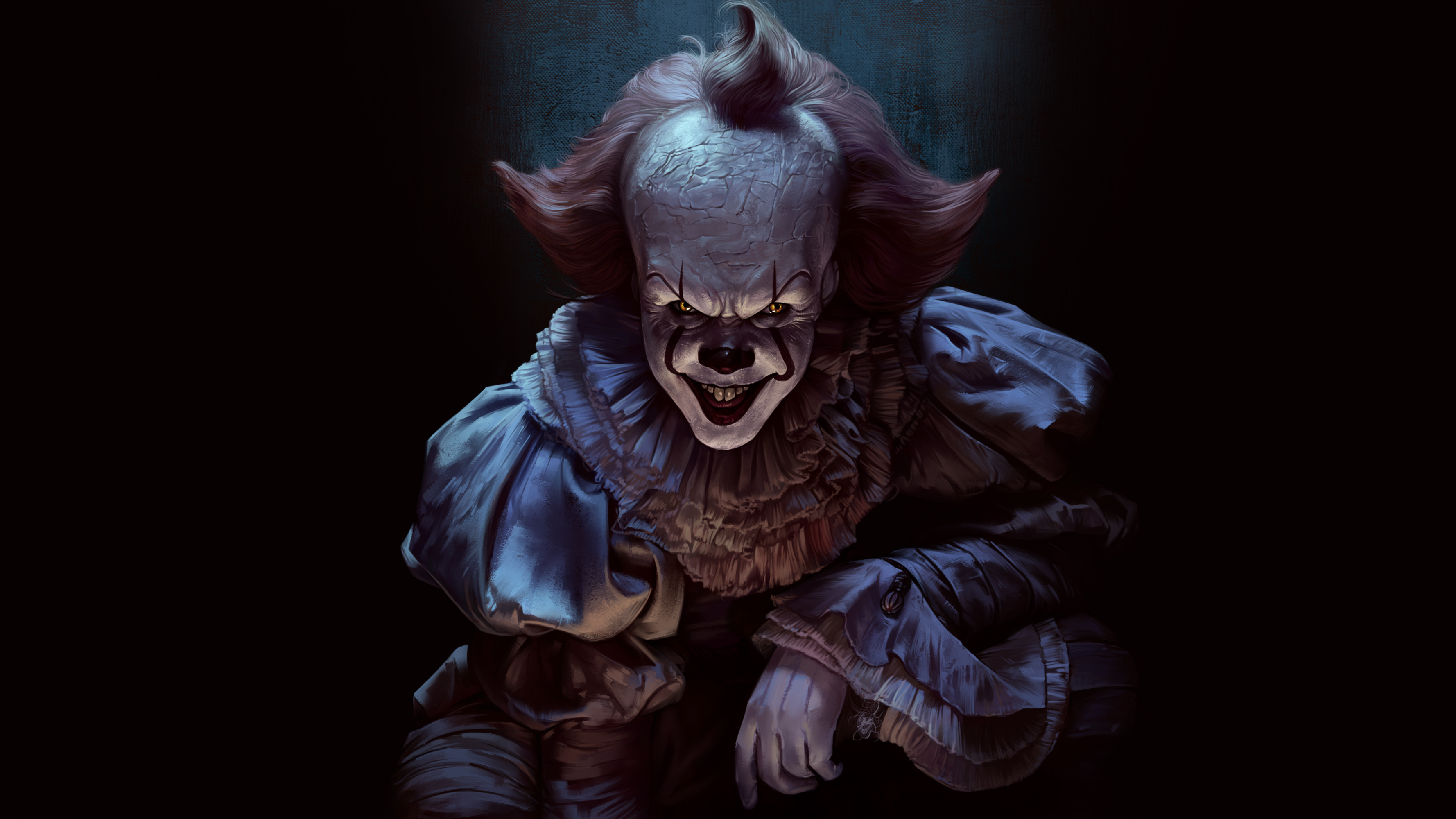 1440x2960 pennywise joker 4k samsung galaxy note 9 8 s9 s8 s8 qhd hd 4k wallpapers images - 3d wallpaper for note 8 ...