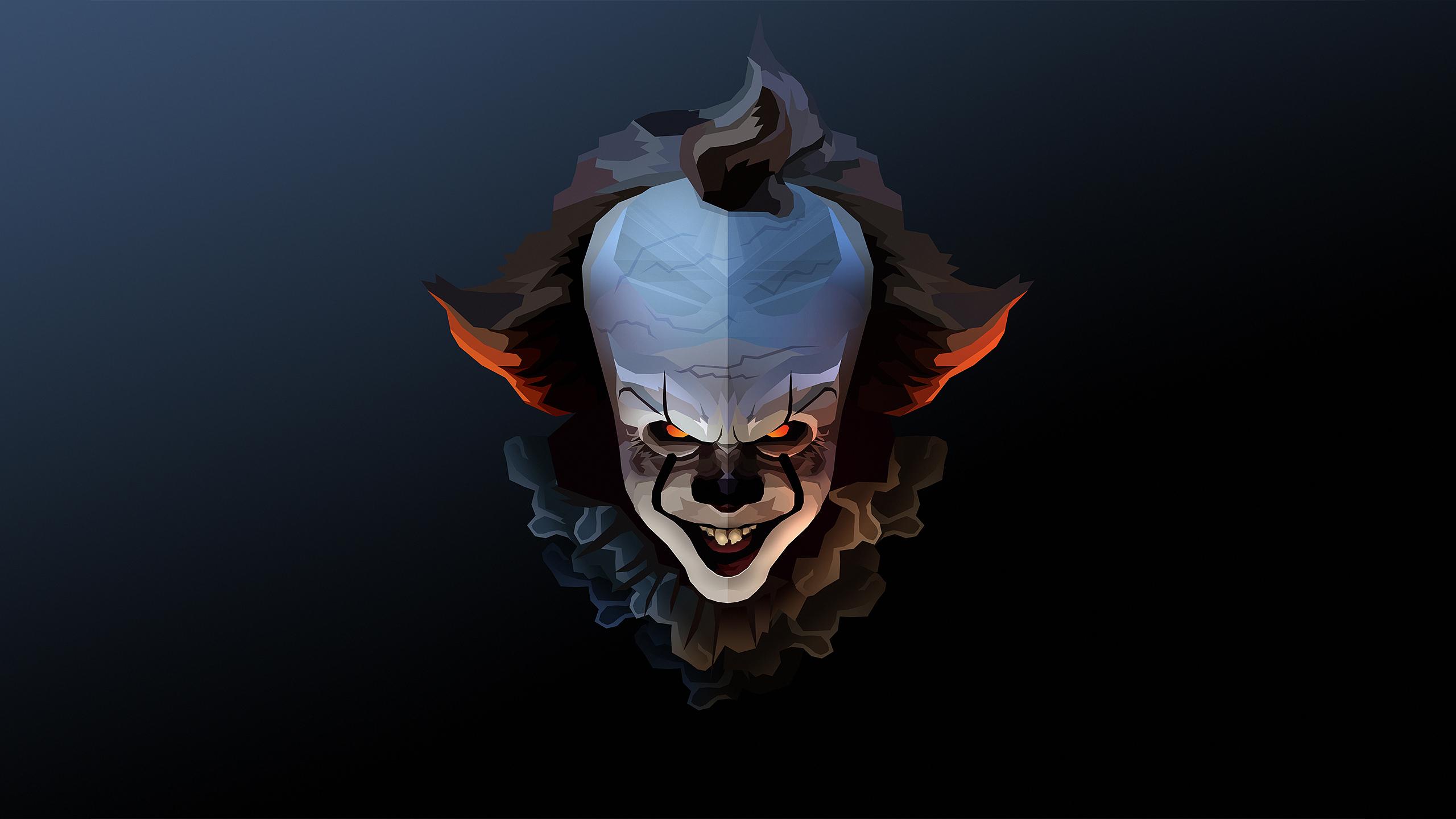Pennywise the clown halloween fanart hd artist 4k - Pennywise wallpaper ...