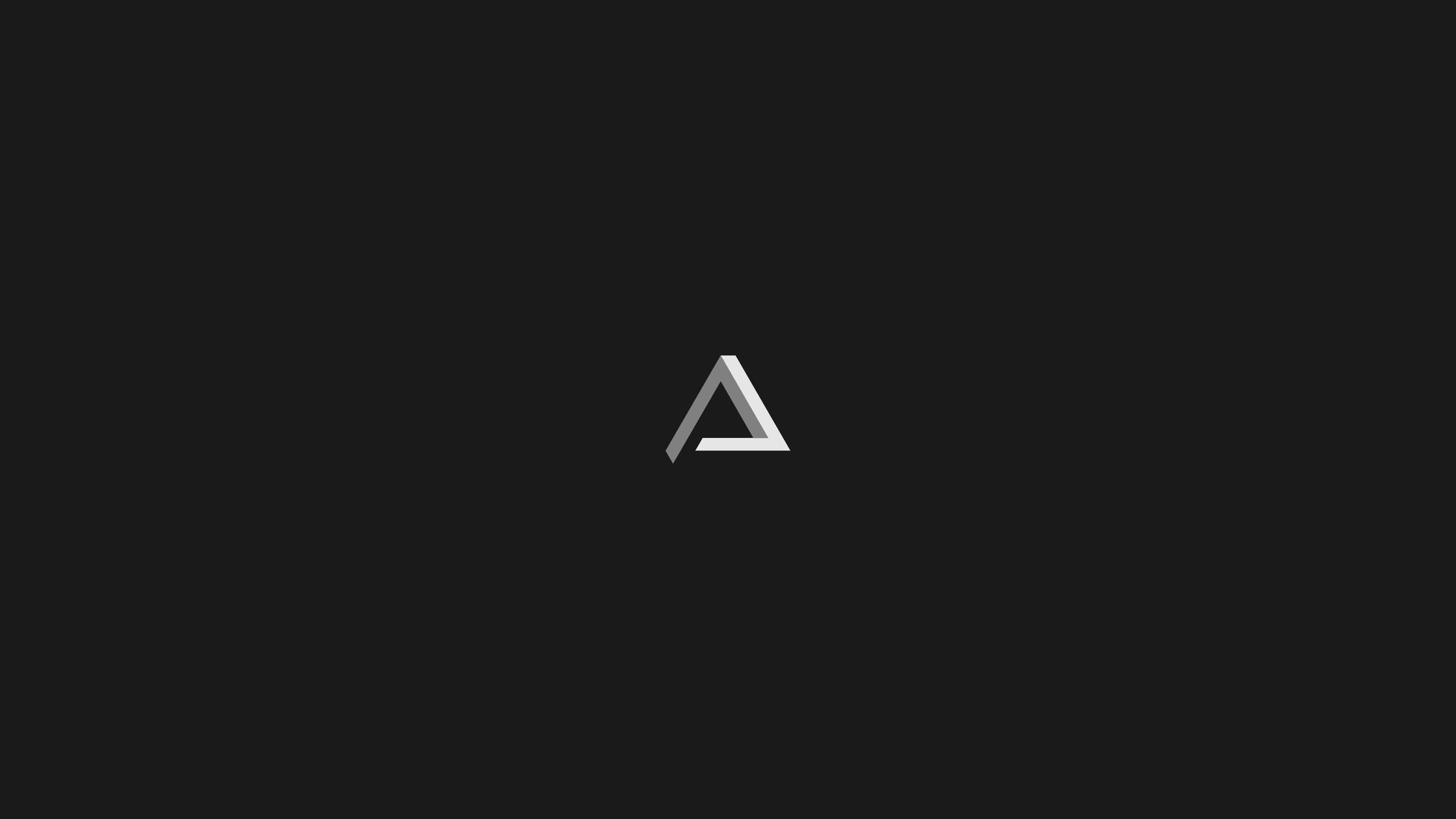 Penrose Triangle Minimalism, HD Artist, 4k Wallpapers ...