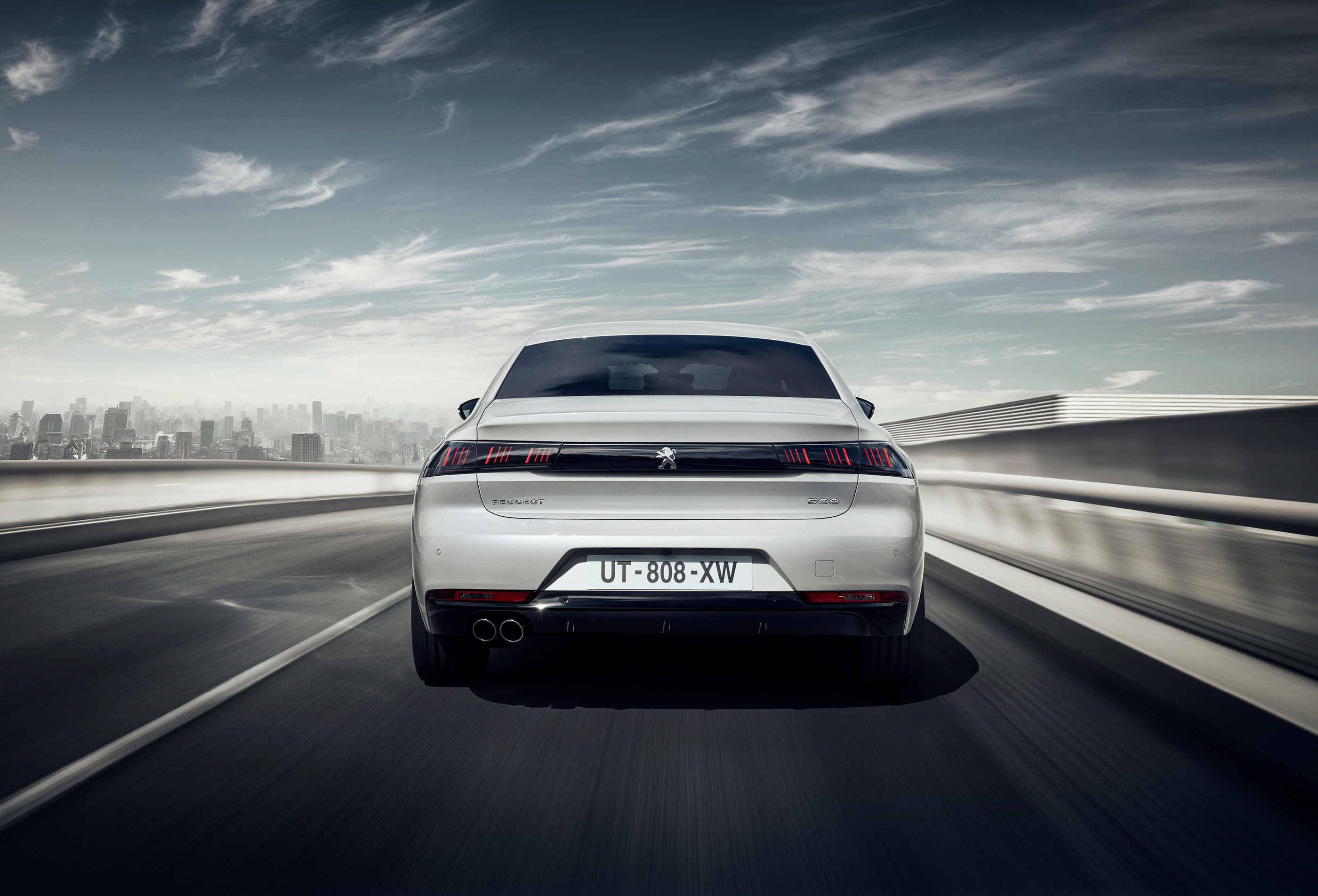 Peugeot 508 Rear 2018, HD Cars, 4k Wallpapers, Images
