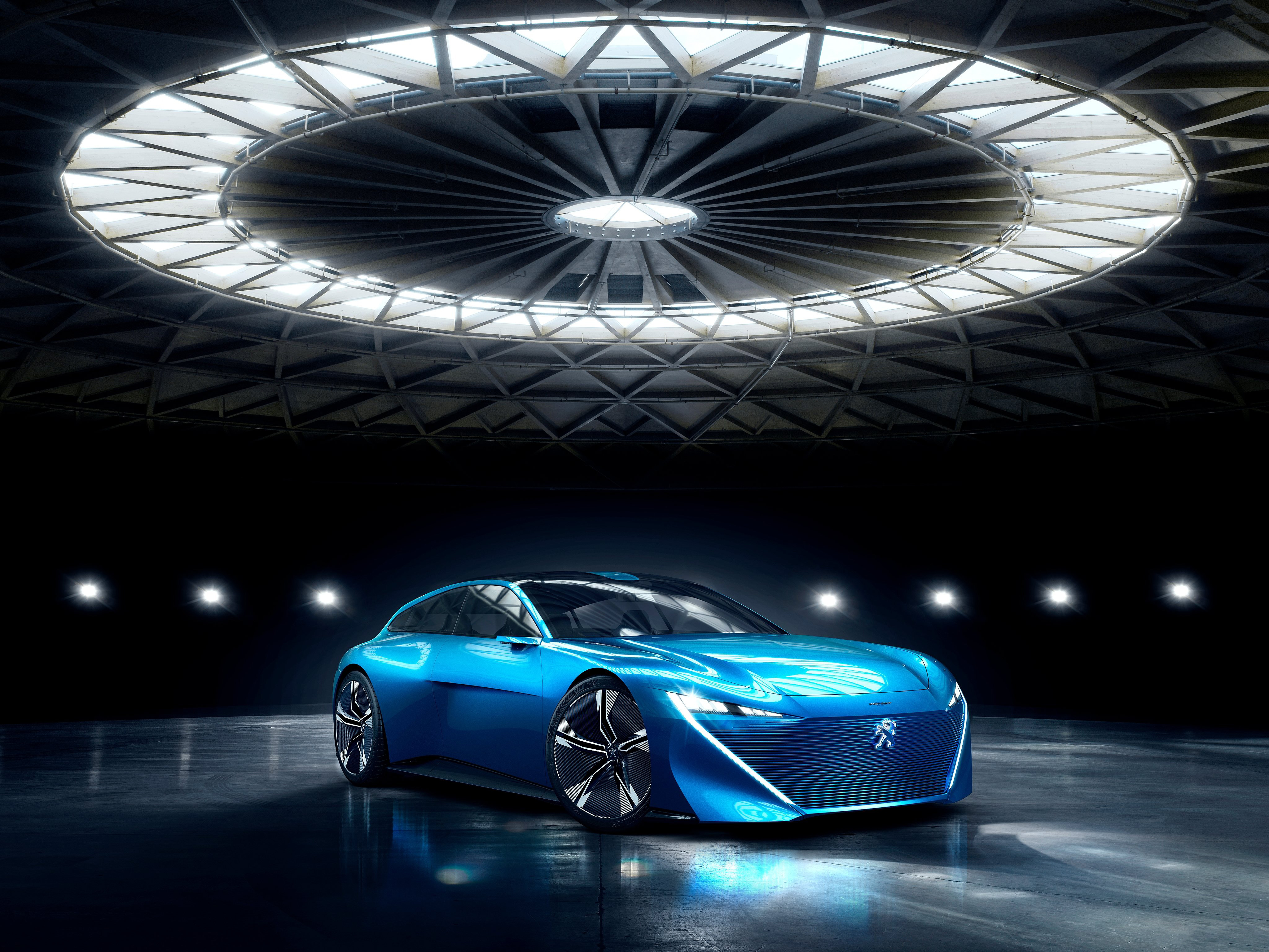 Peugeot Instinct Concept 2017 4k, HD Cars, 4k Wallpapers