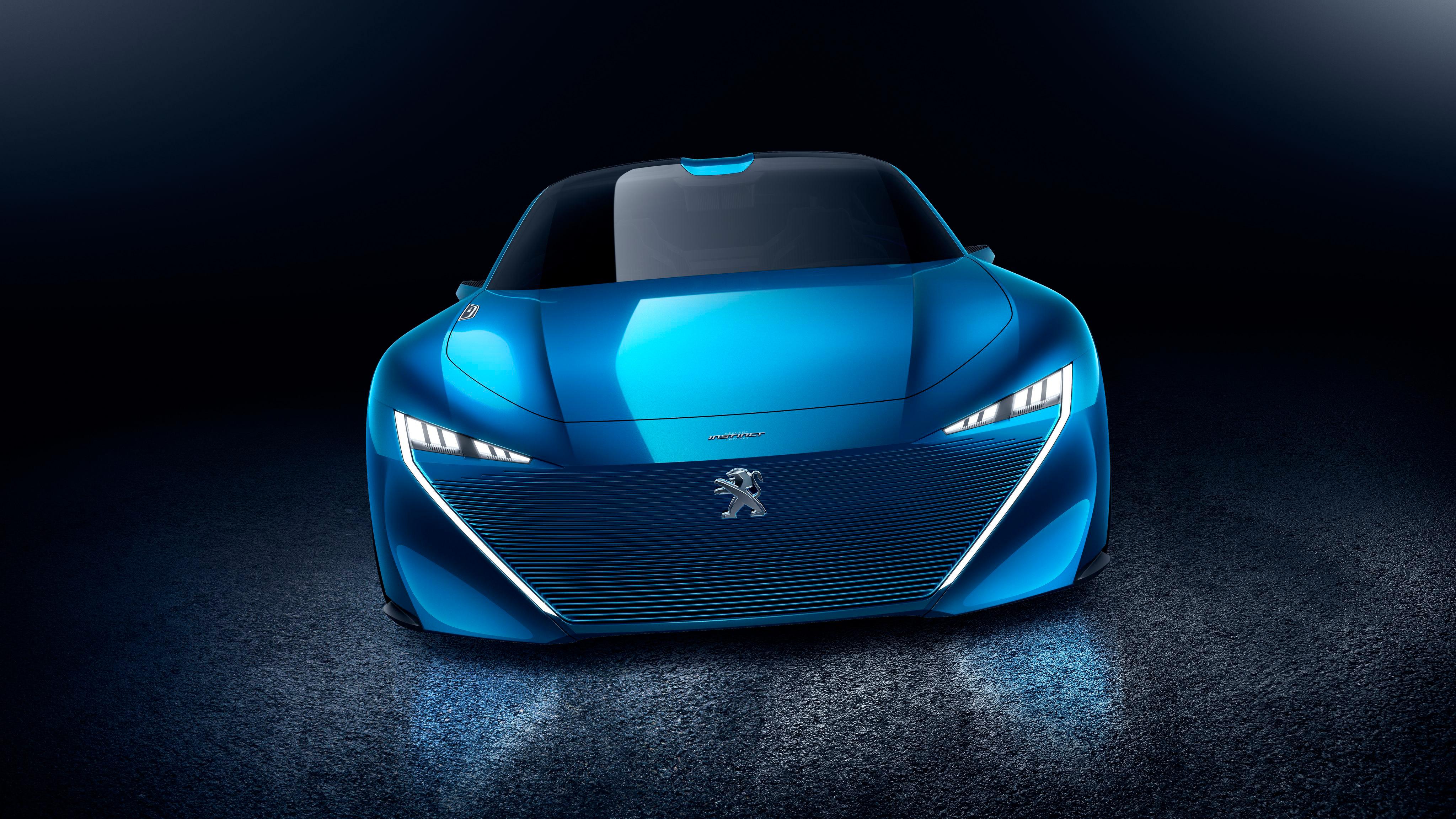 Peugeot Instinct Concept Car 2017