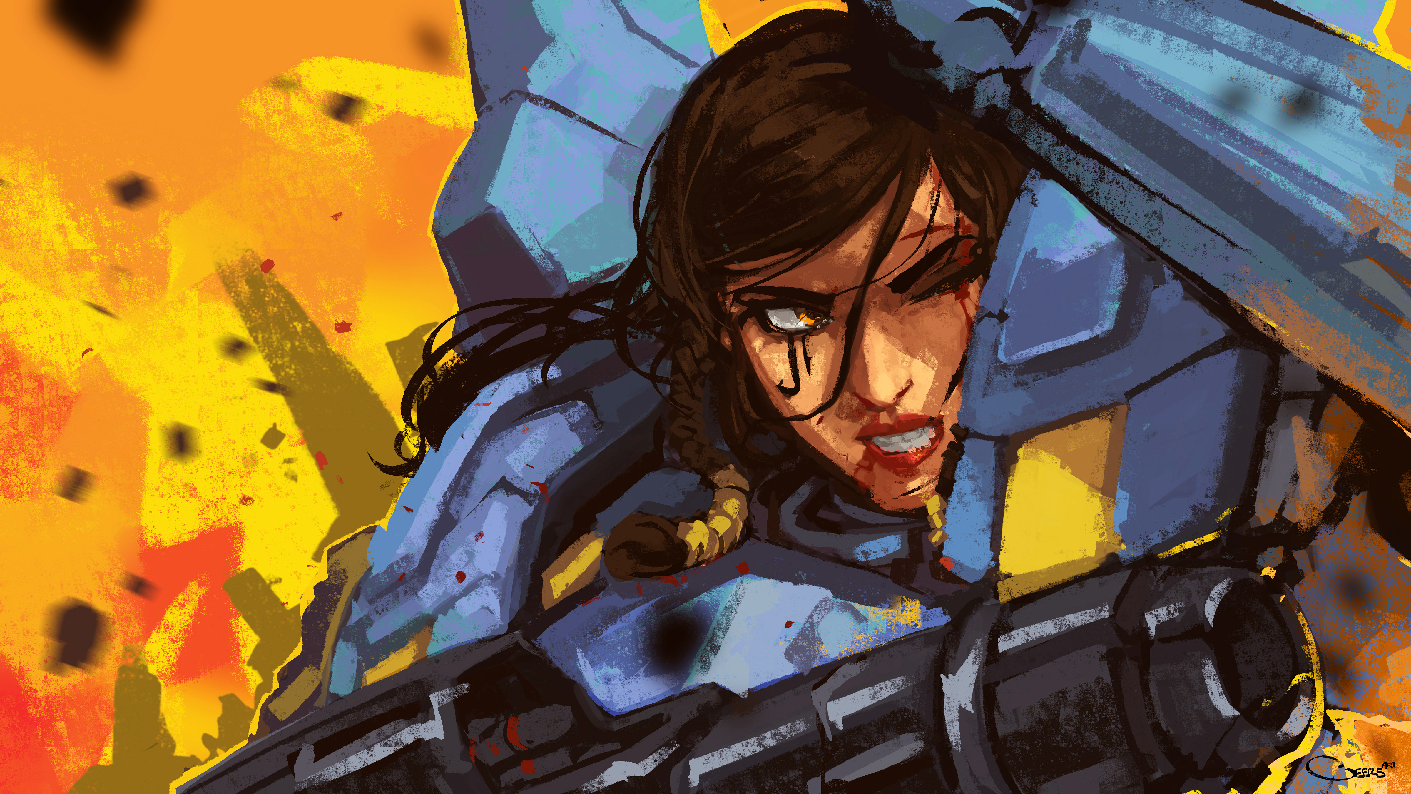 Pharah Overwatch 5k Hd Games 4k Wallpapers Images Backgrounds