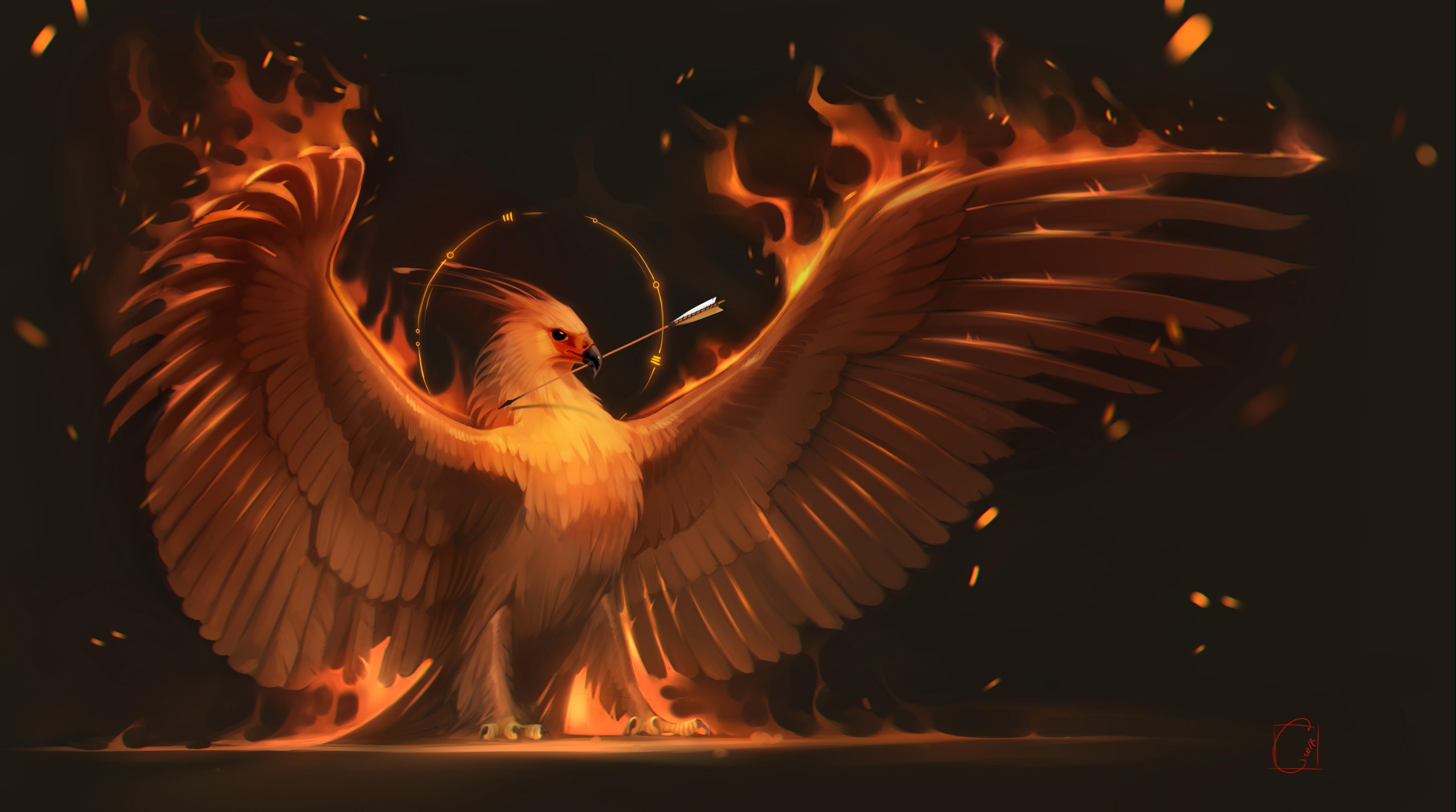 Phoenix Hd Artist 4k Wallpapers Images Backgrounds
