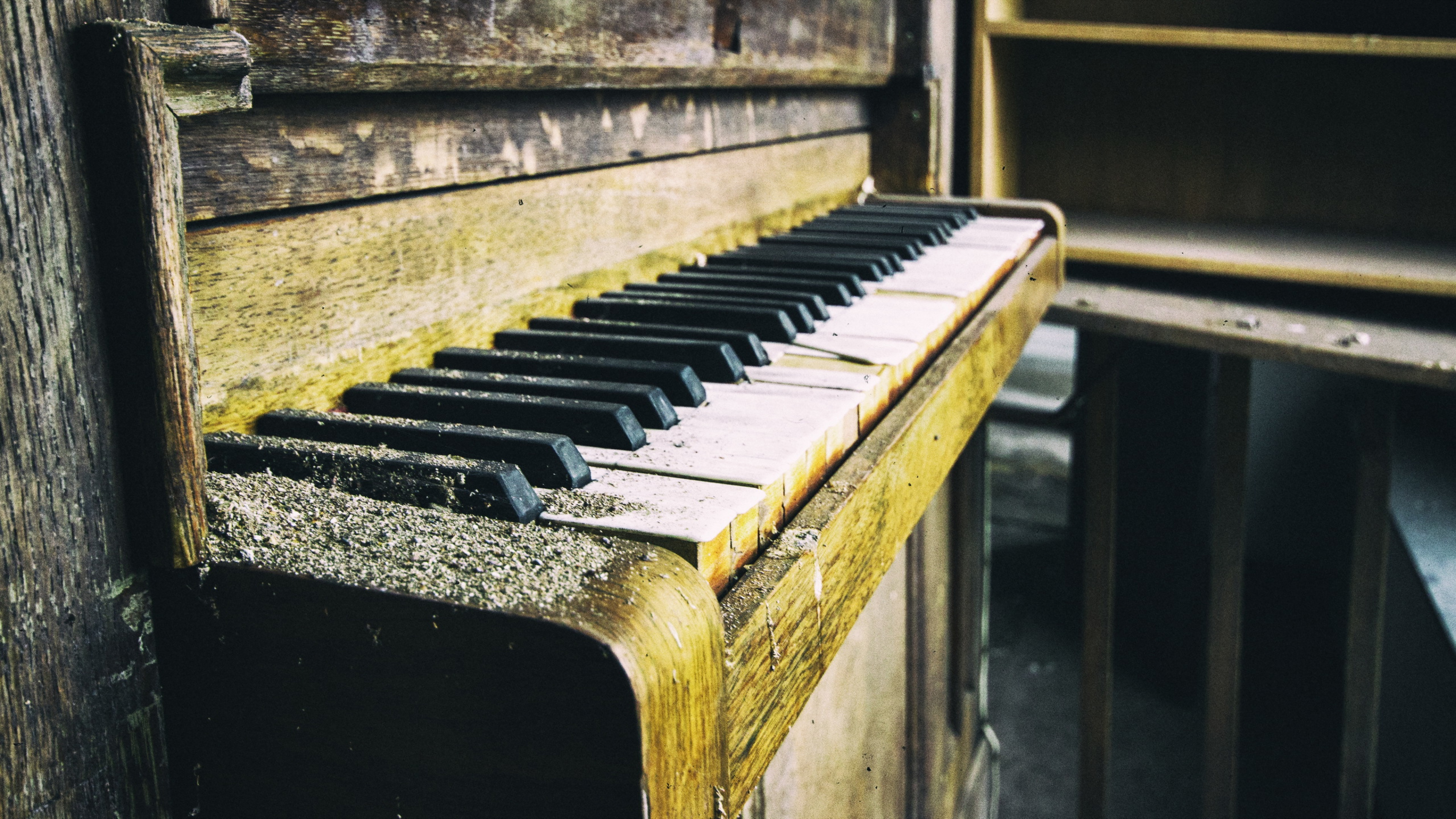 Piano Music Wallpaper: Piano Old, HD Music, 4k Wallpapers, Images, Backgrounds