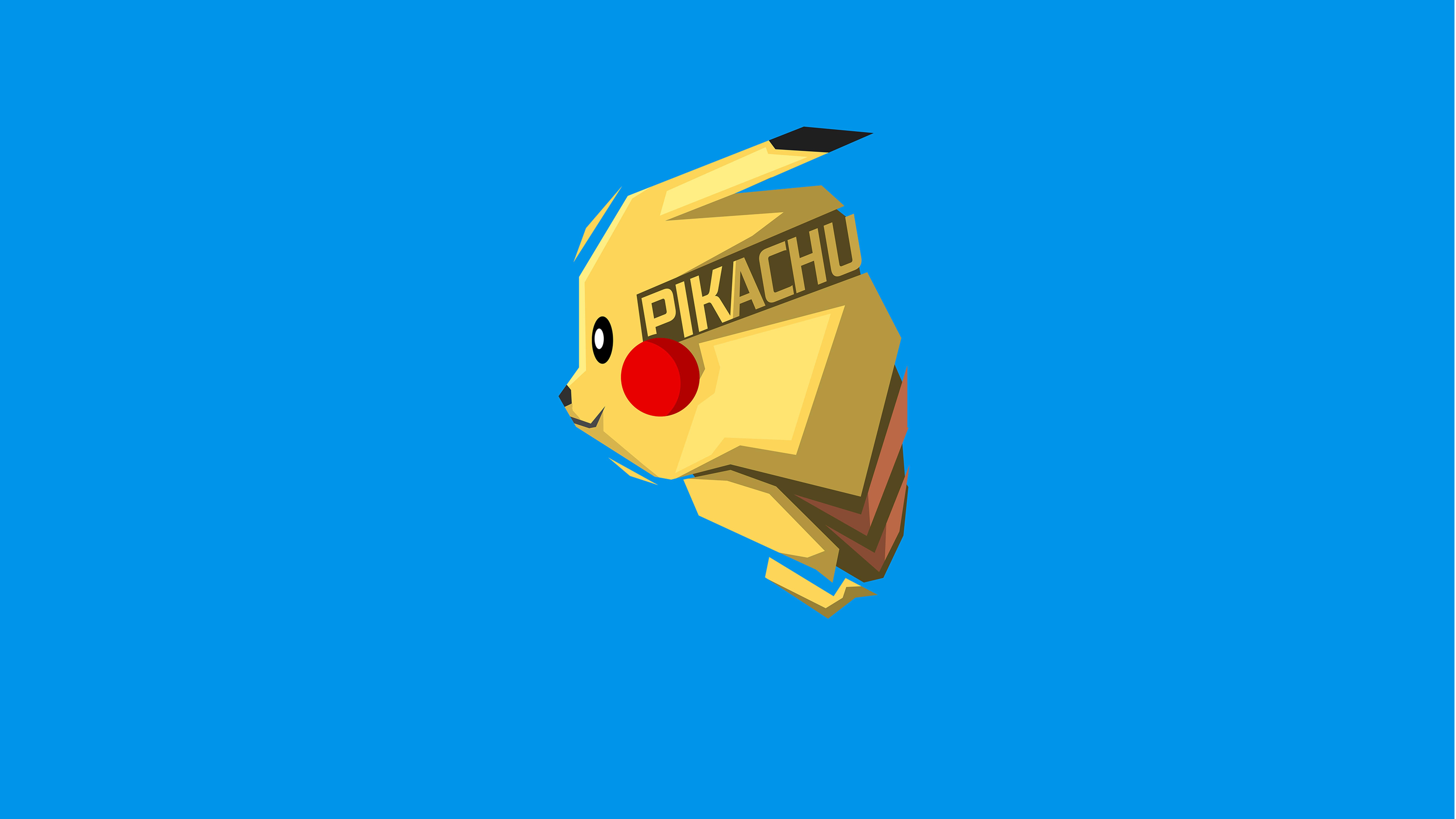 7680x4320 Pikachu Minimalism 8k 8k Hd 4k Wallpapers Images