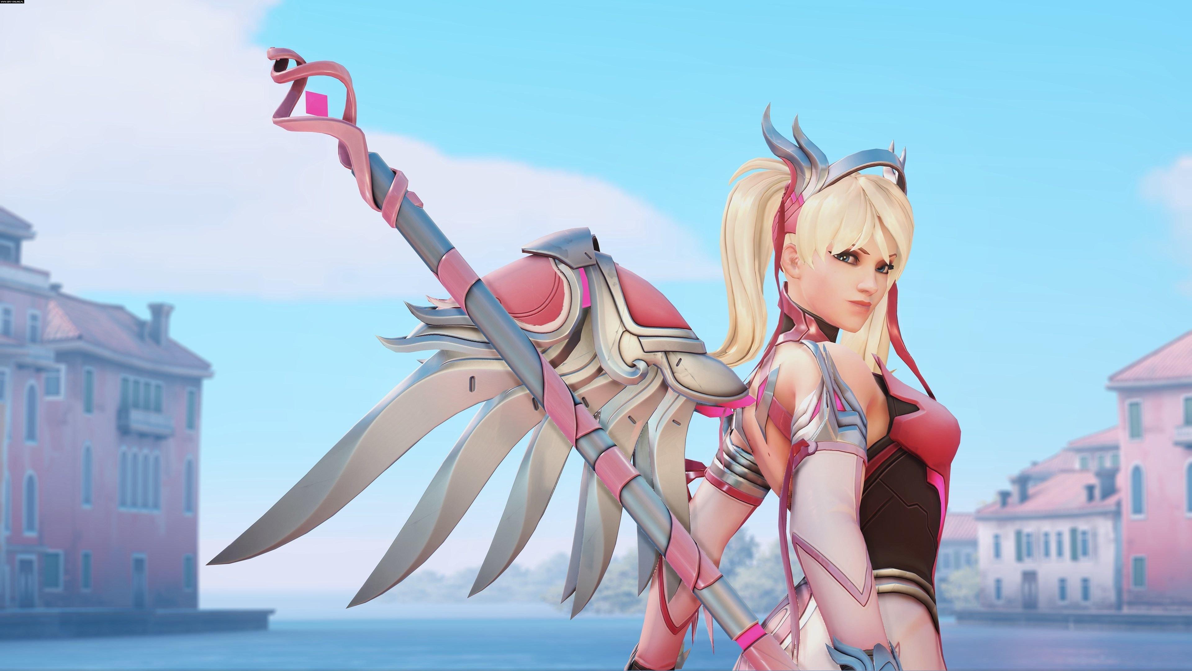 2560x1600 Pink Mercy Overwatch Artwork 4k 2560x1600