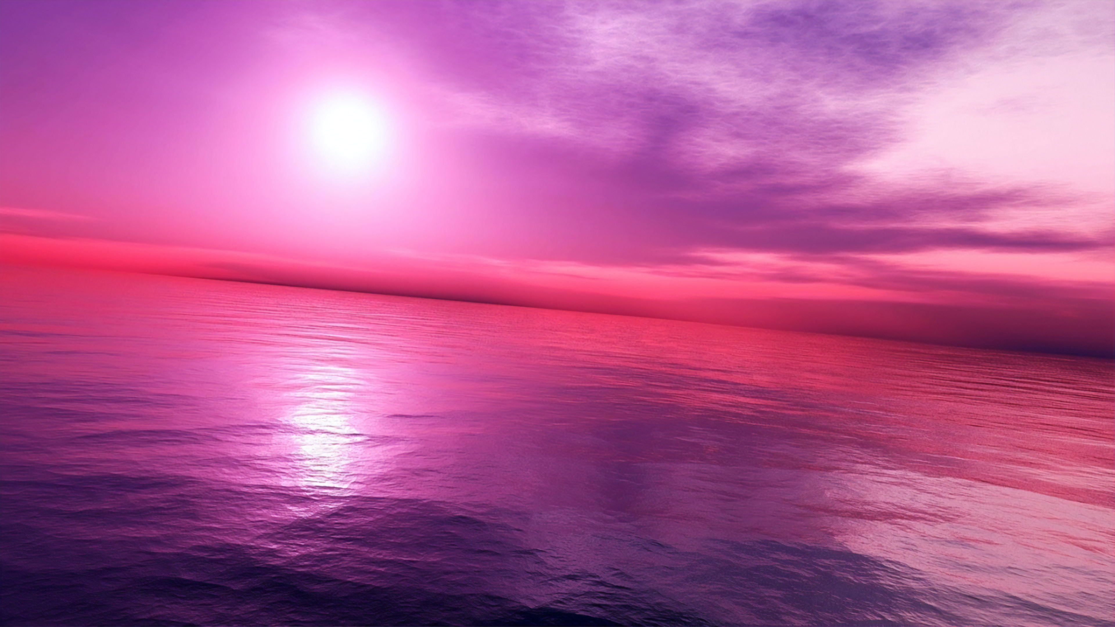 Pink Purple Sky 4k, HD Nature, 4k Wallpapers, Images ...
