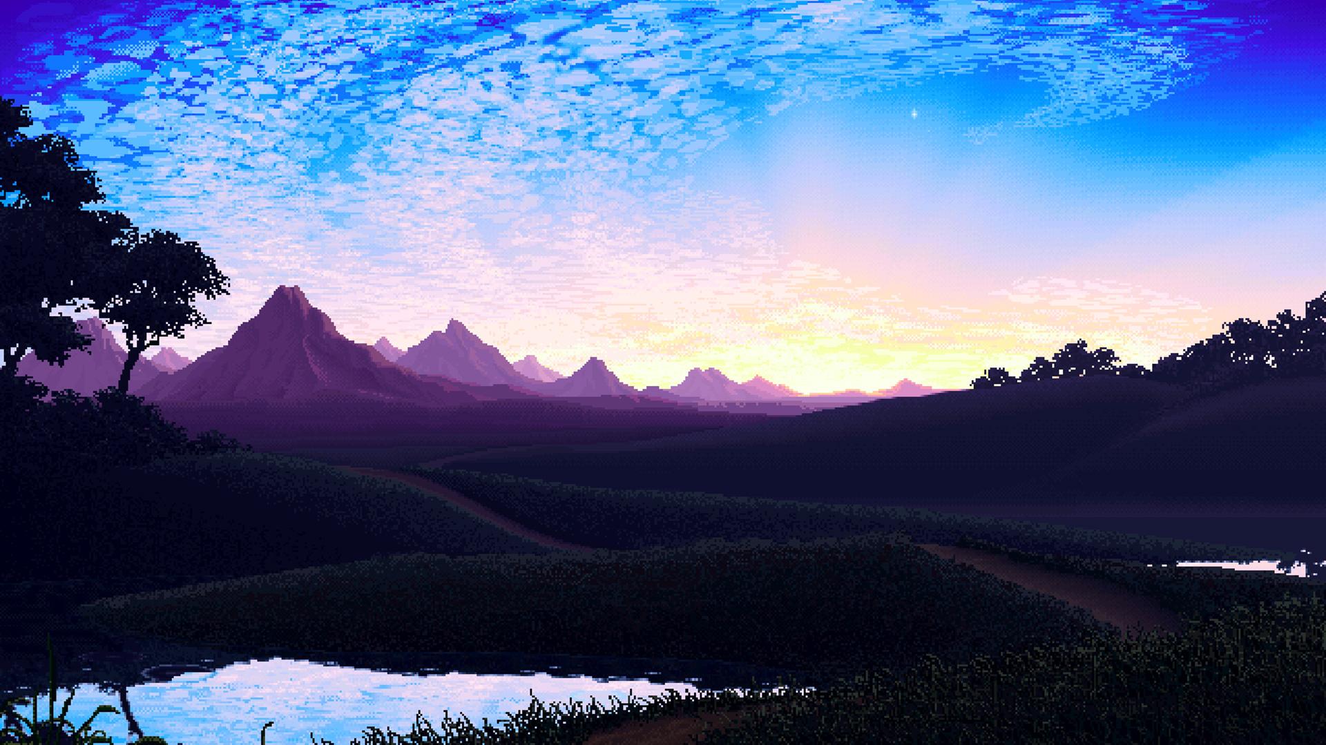 Pixel Landscape, HD Artist, 4k Wallpapers, Images ...