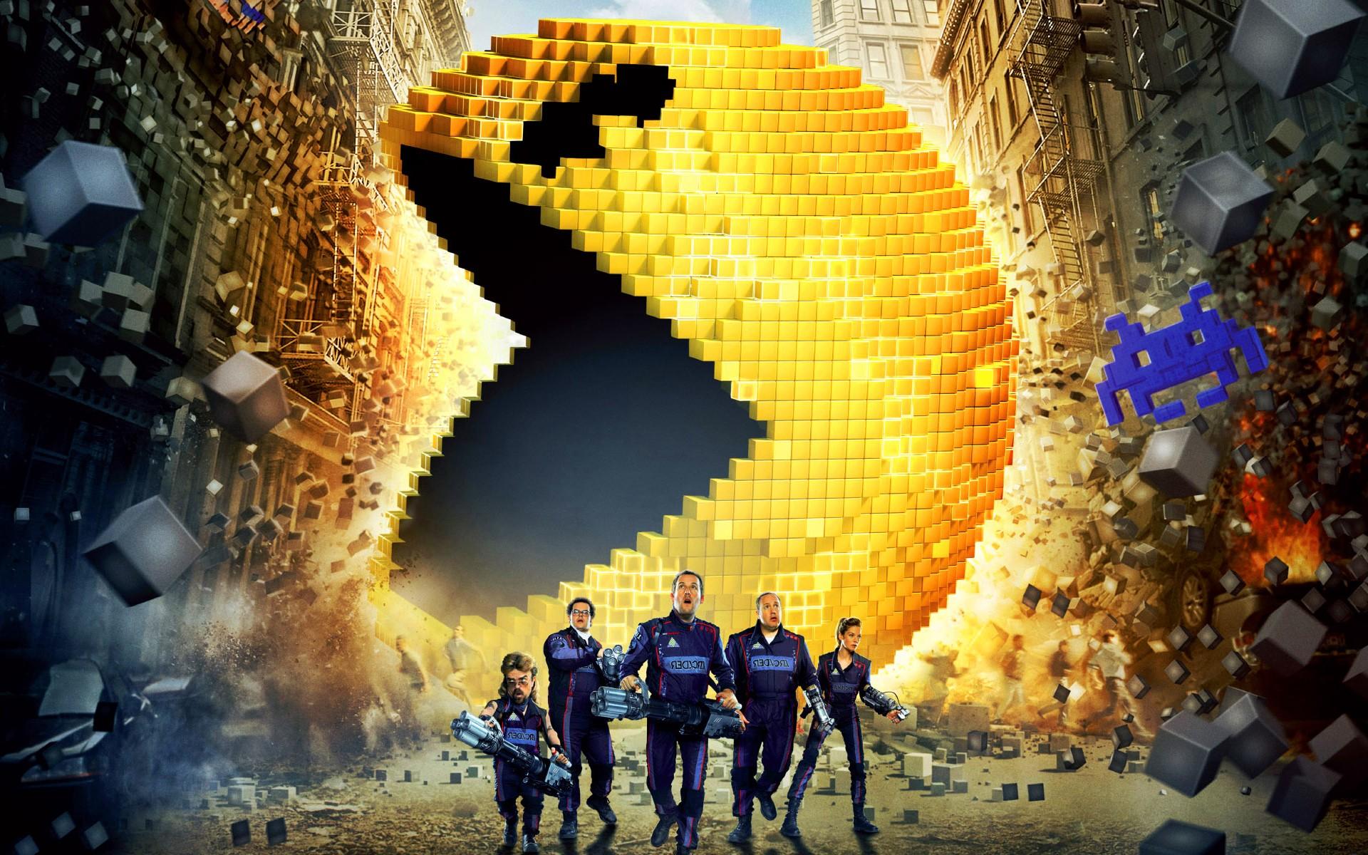 Wonderful Wallpaper Movie Pixels - pixels-movie  2018_37206.jpg