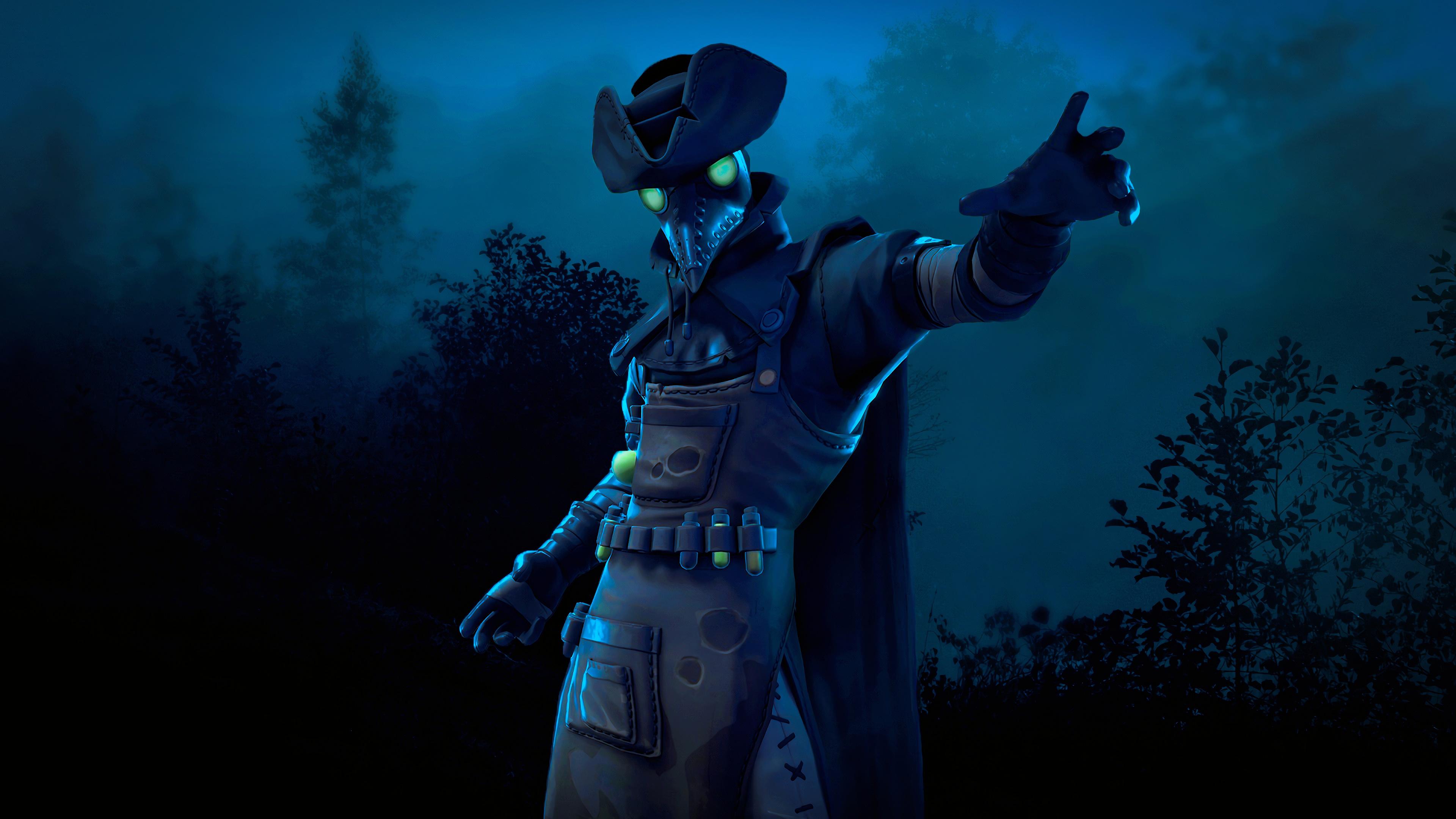 Plague Fortnite Season 6 4k Hd Games 4k Wallpapers Images