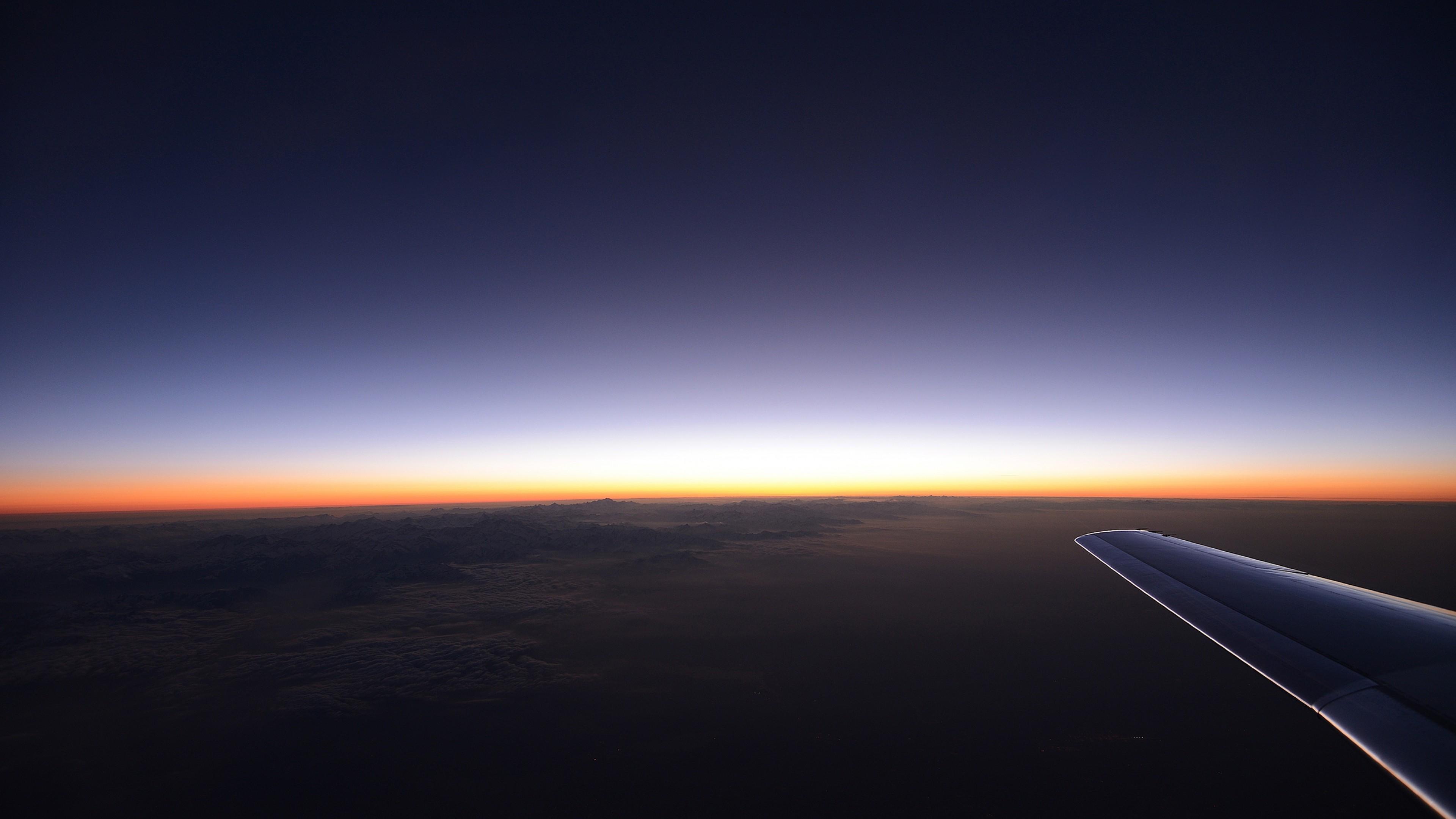 1680x1050 Plane Flight Sky View 1680x1050 Resolution HD 4k