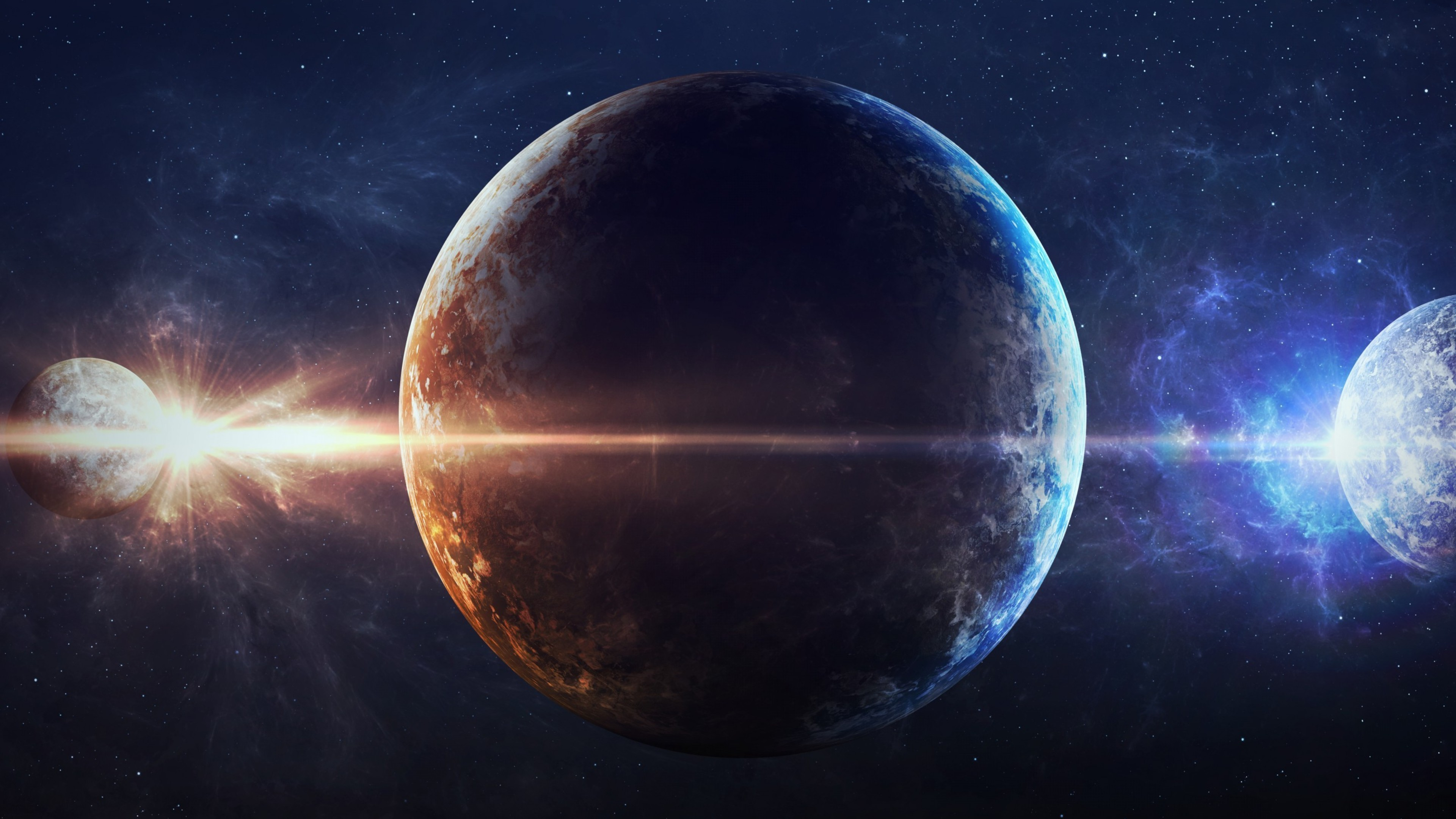 Planets HD Digital Universe 4k Wallpapers Images Backgrounds